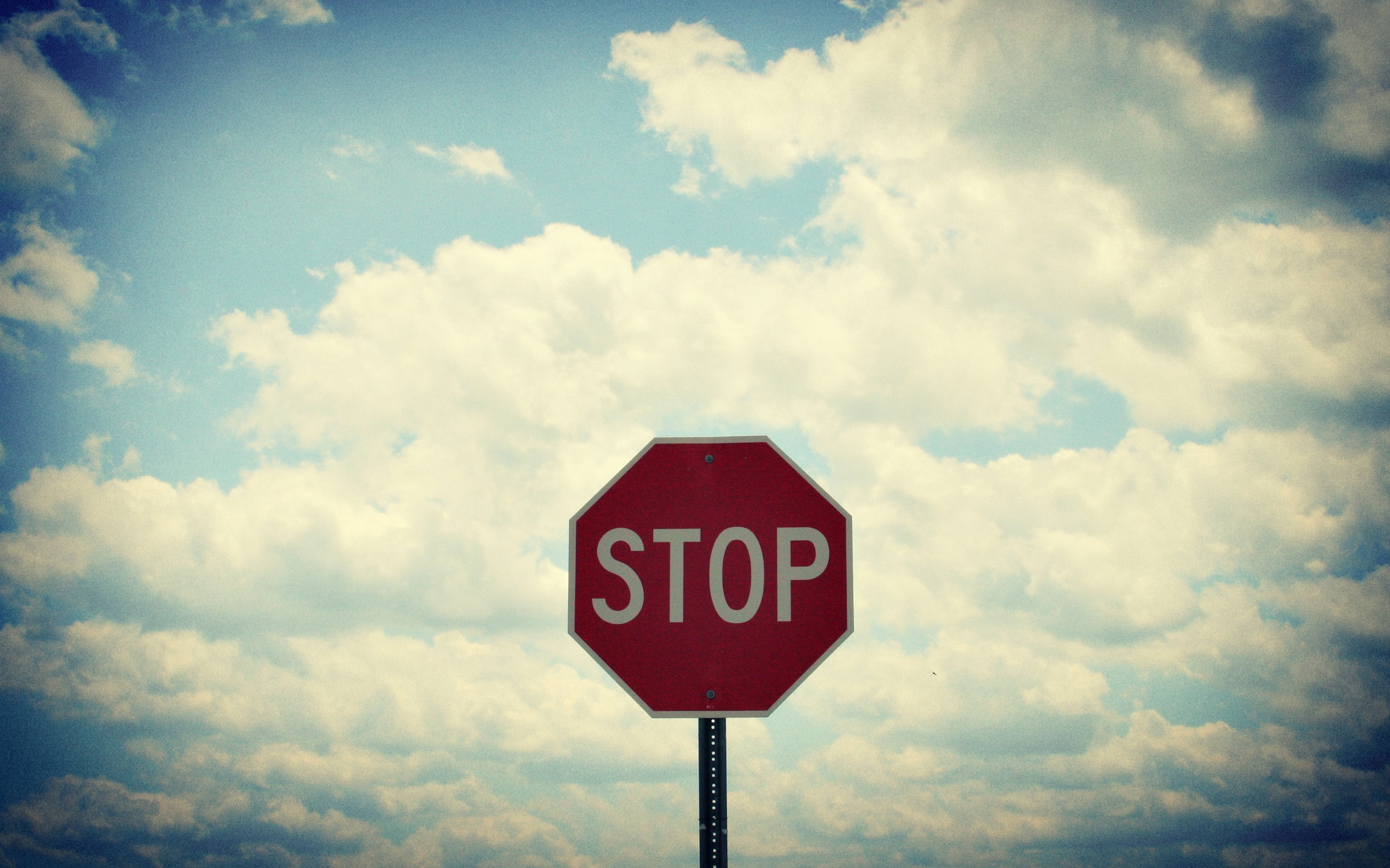 Free Stop Wallpaper