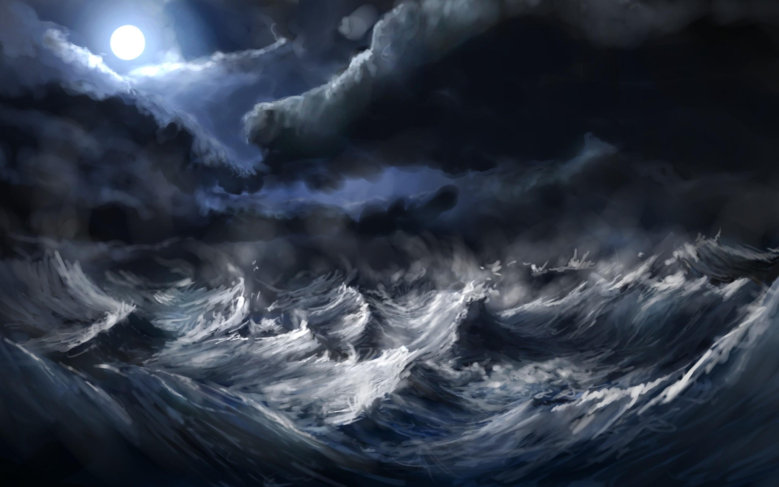 Sea Storm Wallpaper 1920x1080 Sea, Storm ...