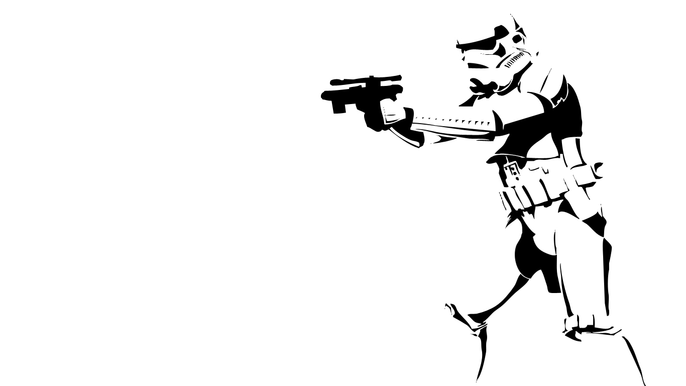 Stormtrooper Wallpaper 1366x768
