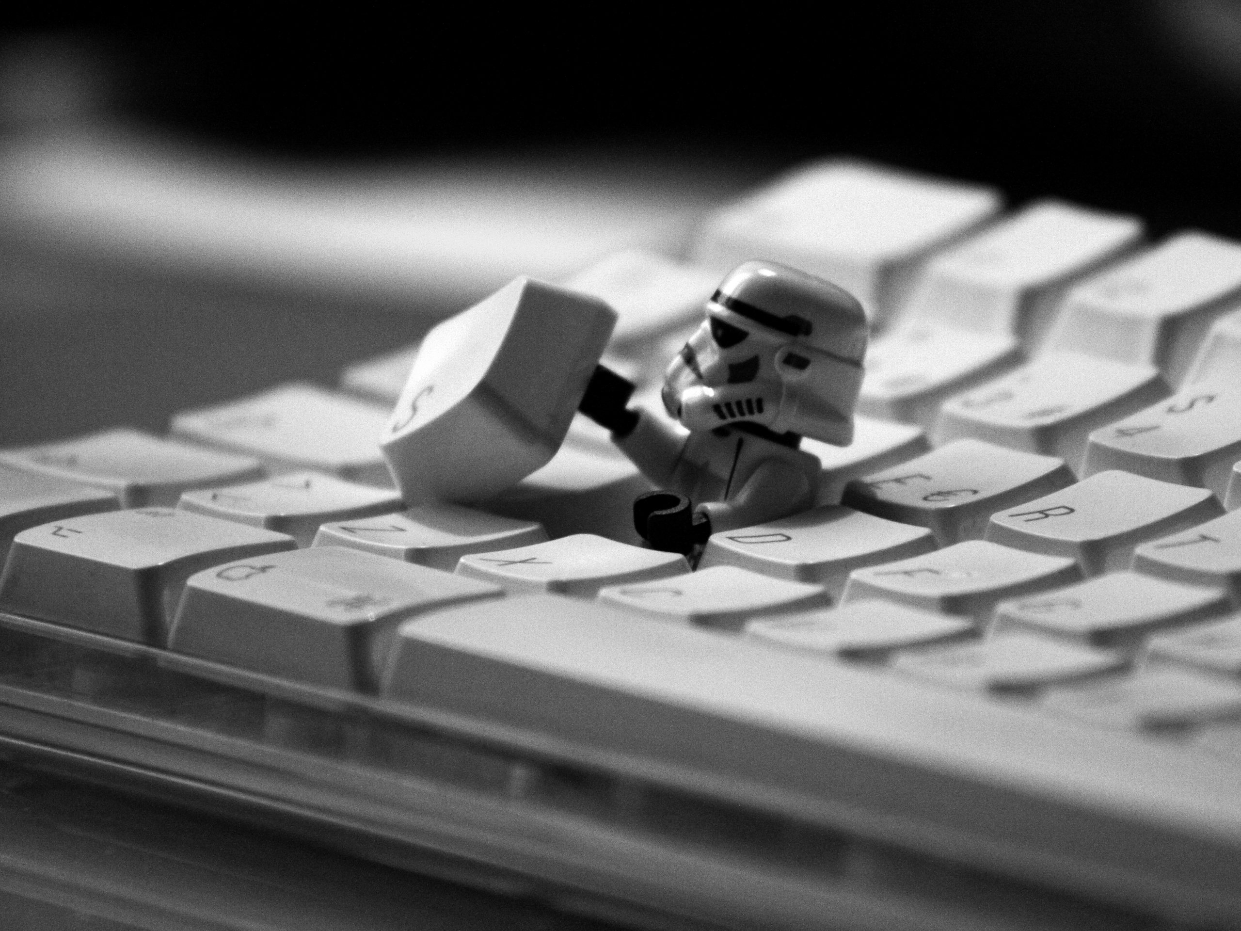 Storm Trooper Escape Keyboard