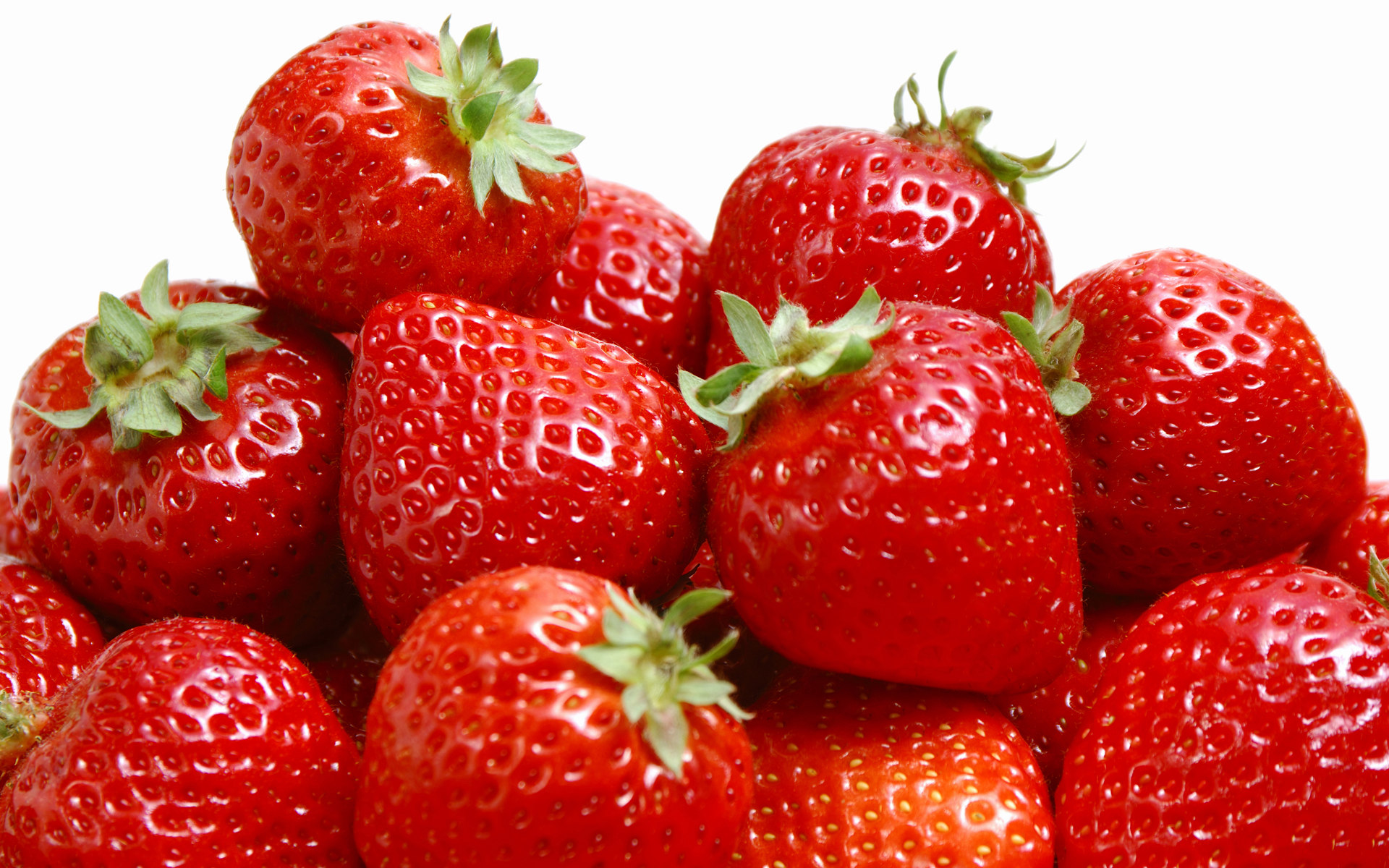 strawberries are the queen of all fruits!