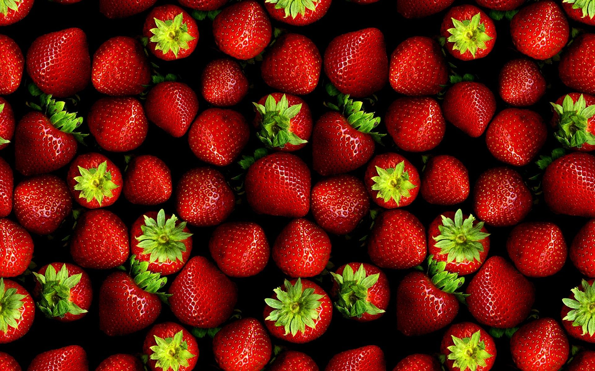 Red Strawberries Background (click to view)