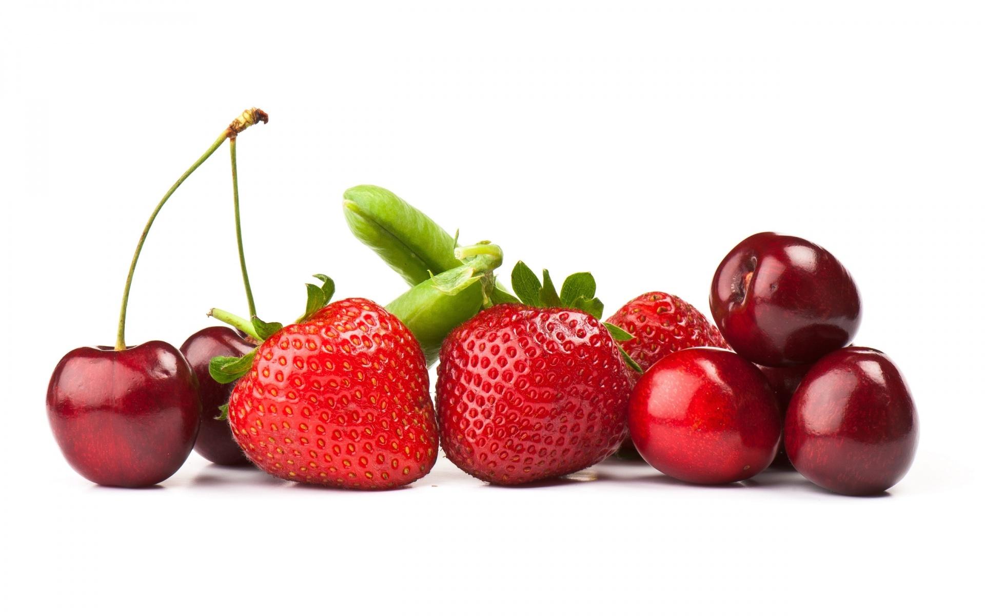 Strawberries cherries