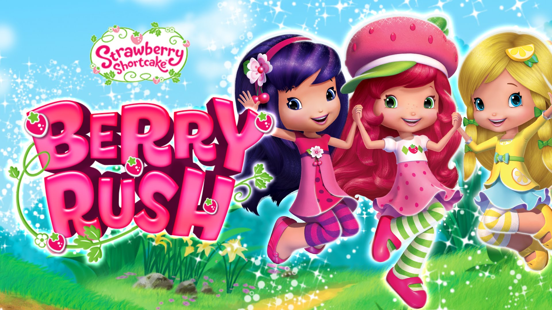 Strawberry Shortcake Berry Rush - NEW App! - Duration: 48 seconds.