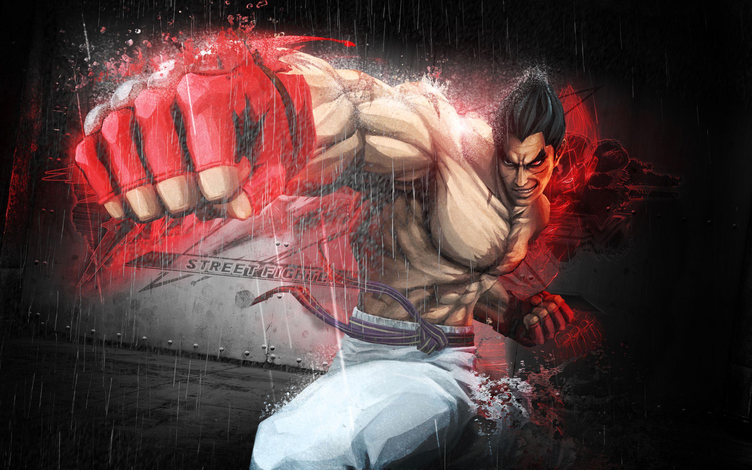 STREET FIGHTER X TEKKEN GAME KAZUYA MISHIMA 1509