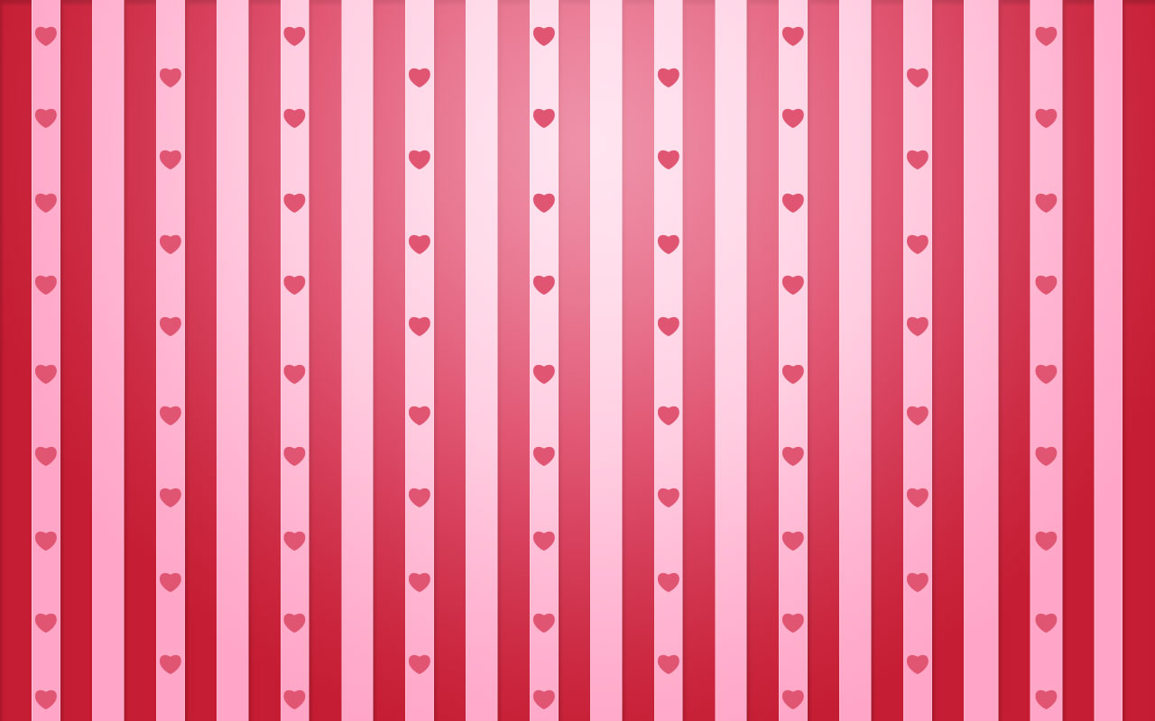 Valentine Stripes - Love Wallpapers