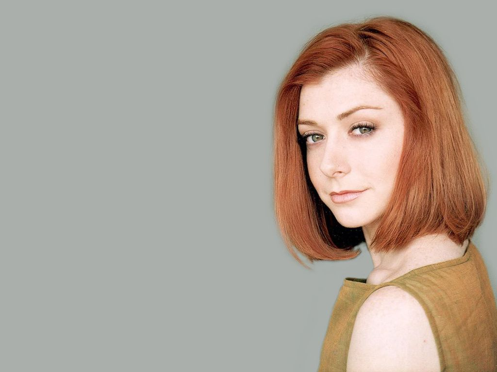 Stunning Alyson Hannigan