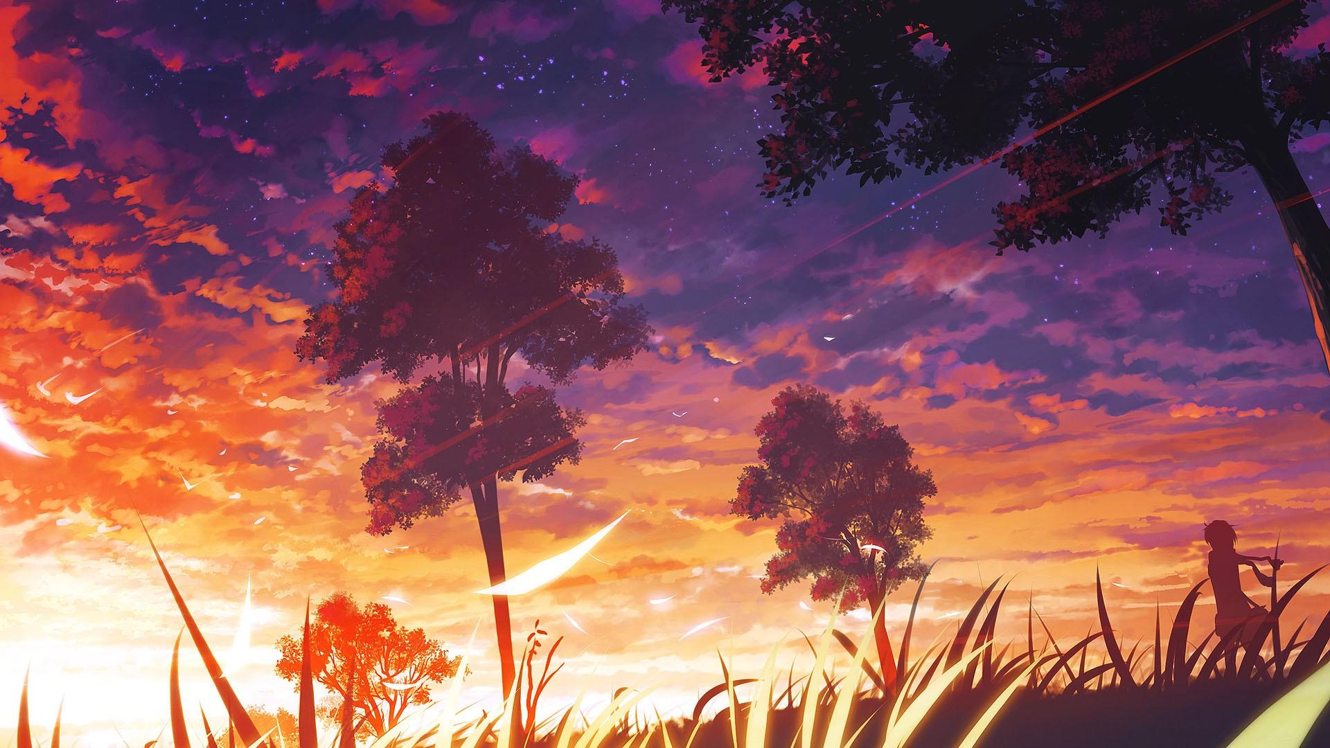Beautiful Anime Scenery Wallpaper