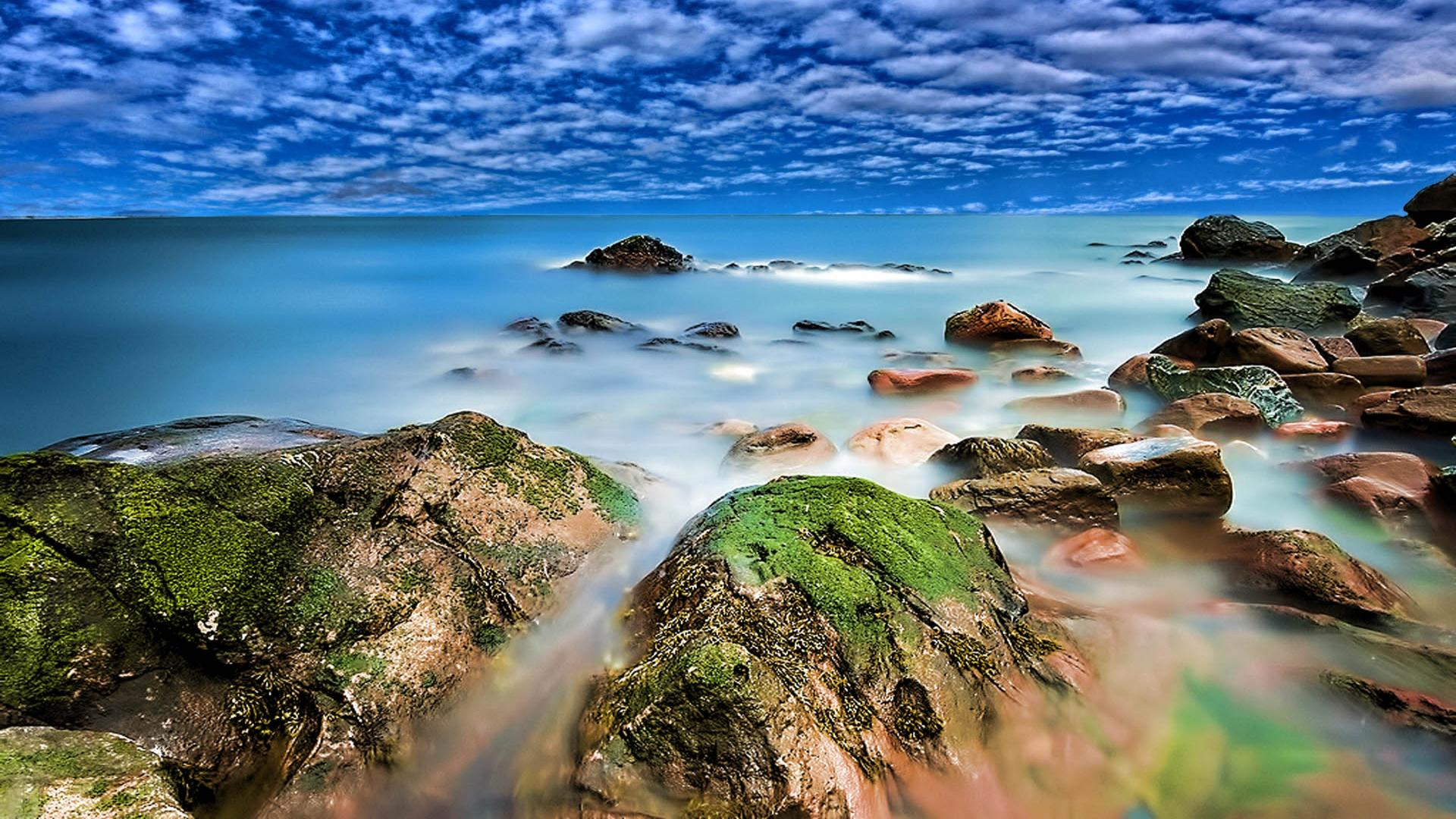 Stunning Coastal Wallpaper