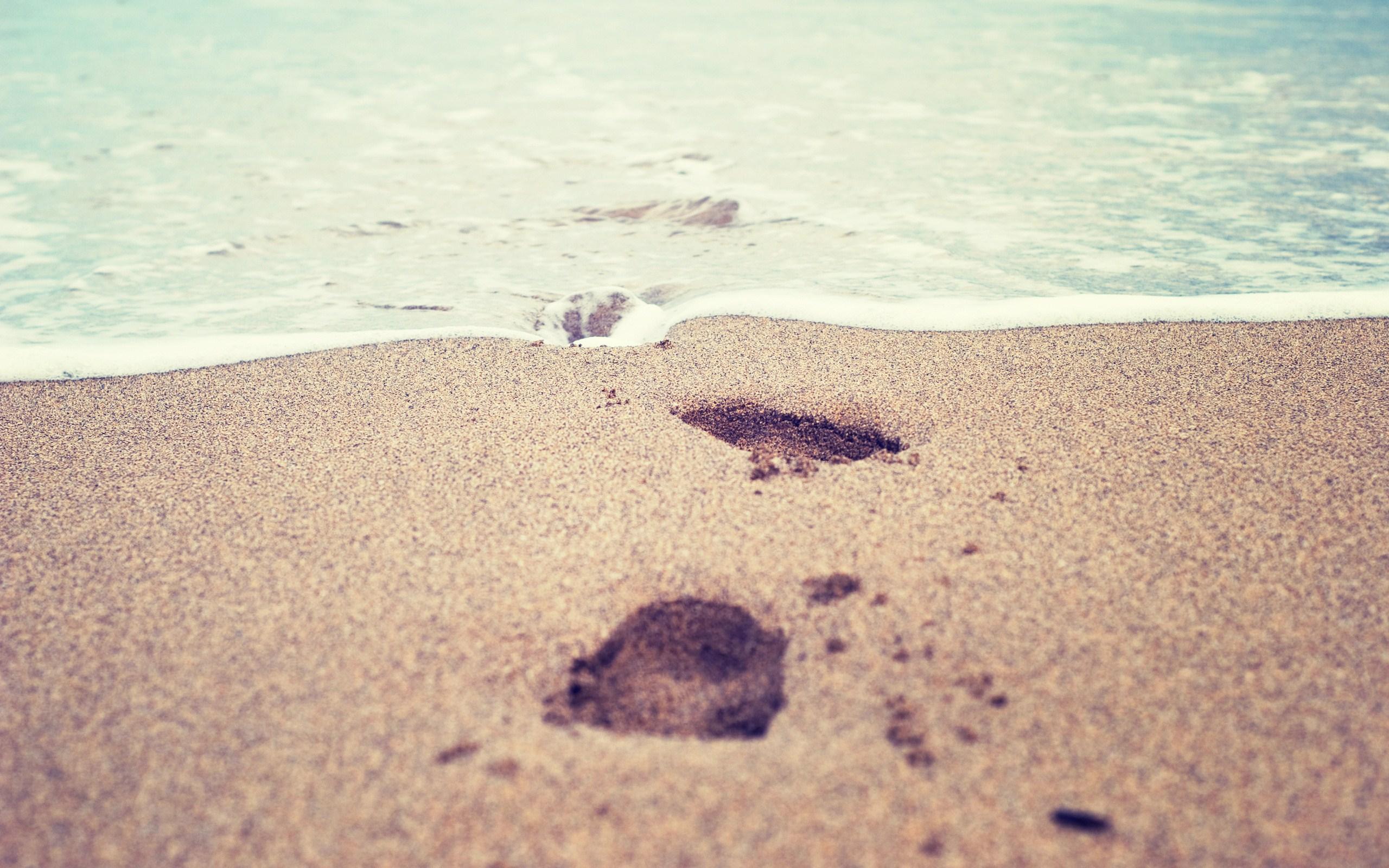 Stunning Footprints Wallpaper HD