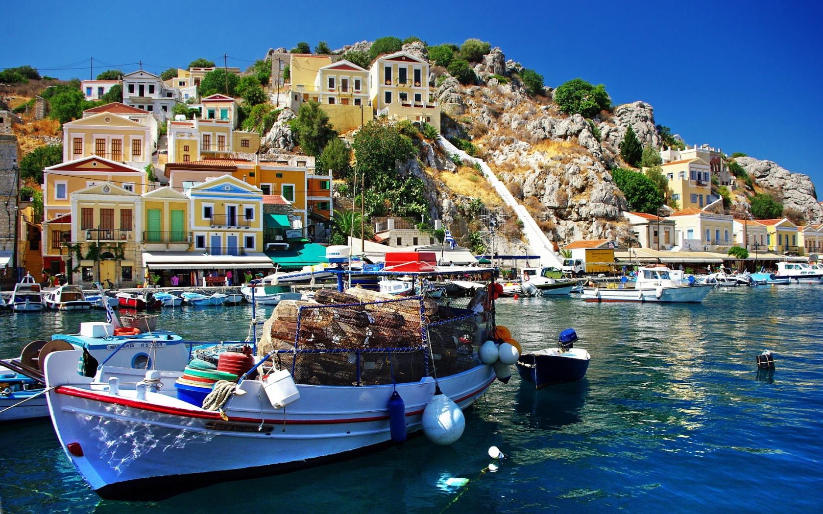 Stunning Greece Wallpaper