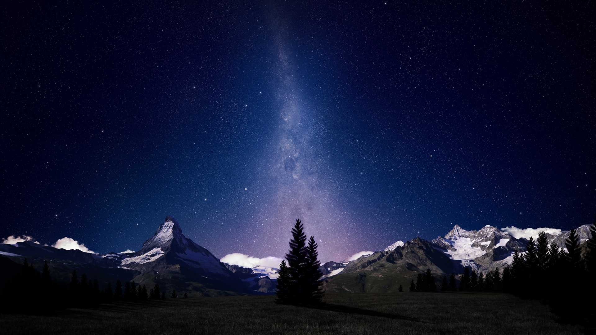 Stunning Milky Way Wallpaper