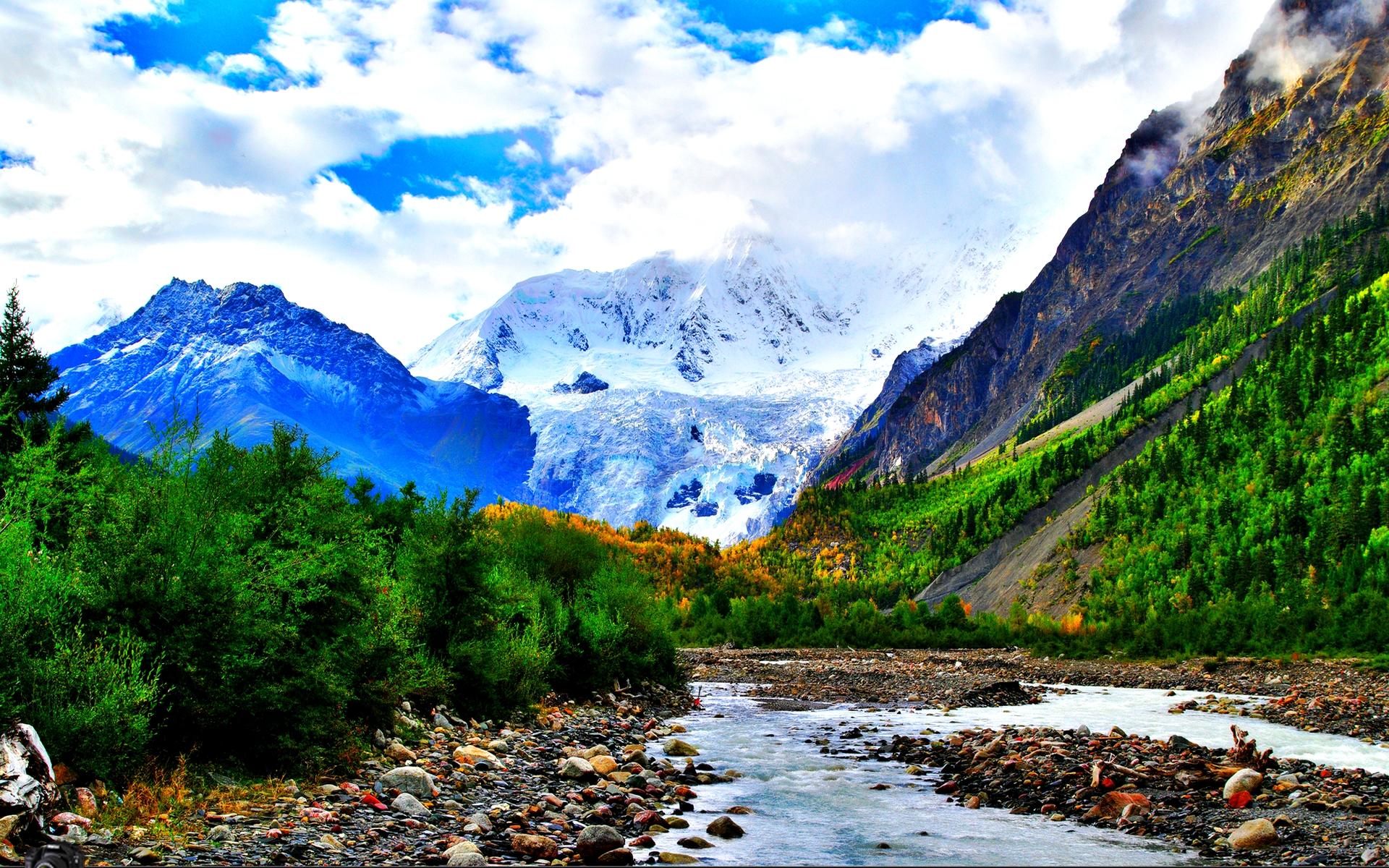 Stunning Mountain Wallpaper 45505 1920x1080 px