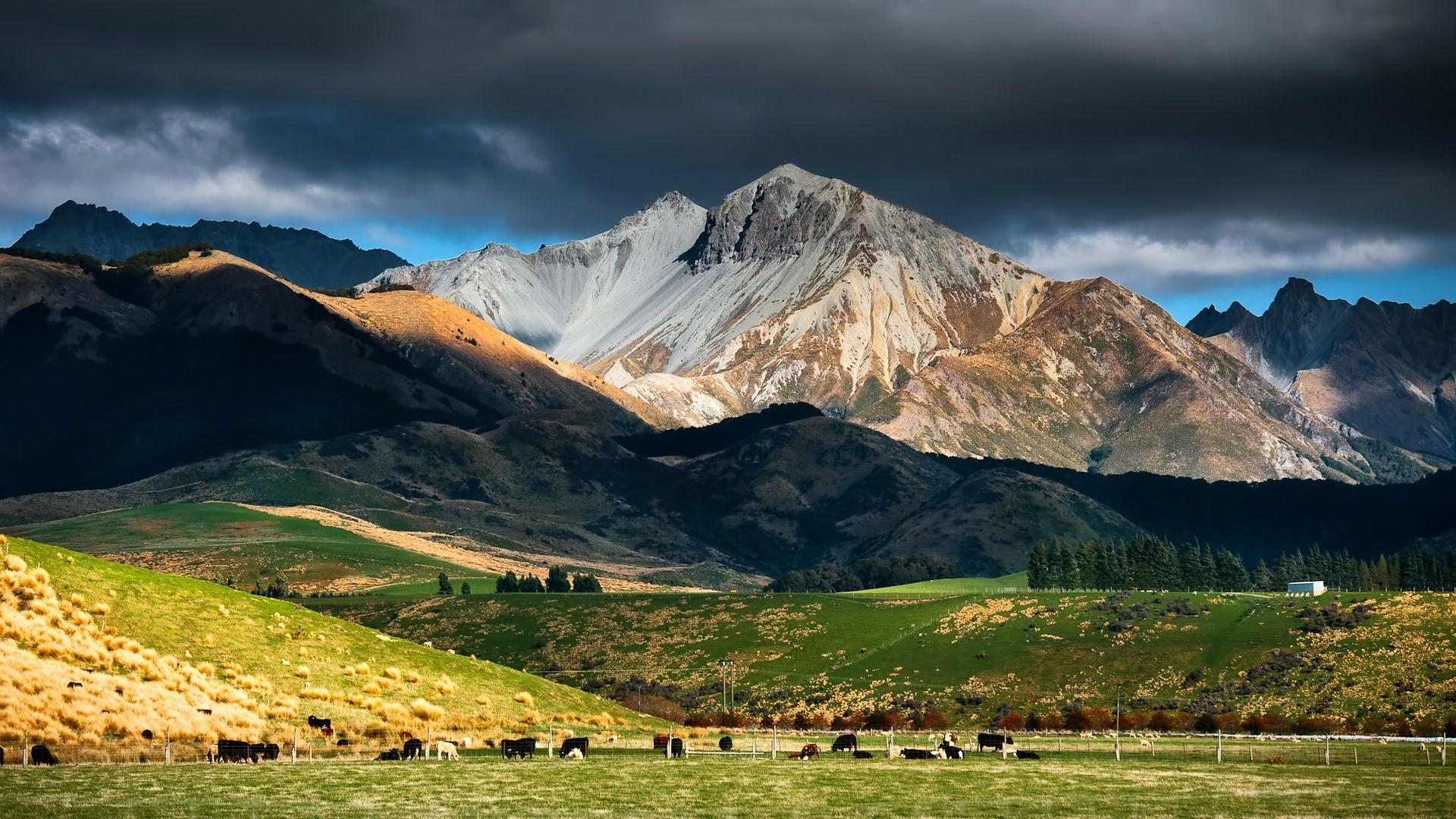 Stunning New Zealand Landscape Wallpaper Iphone 1920x1080px