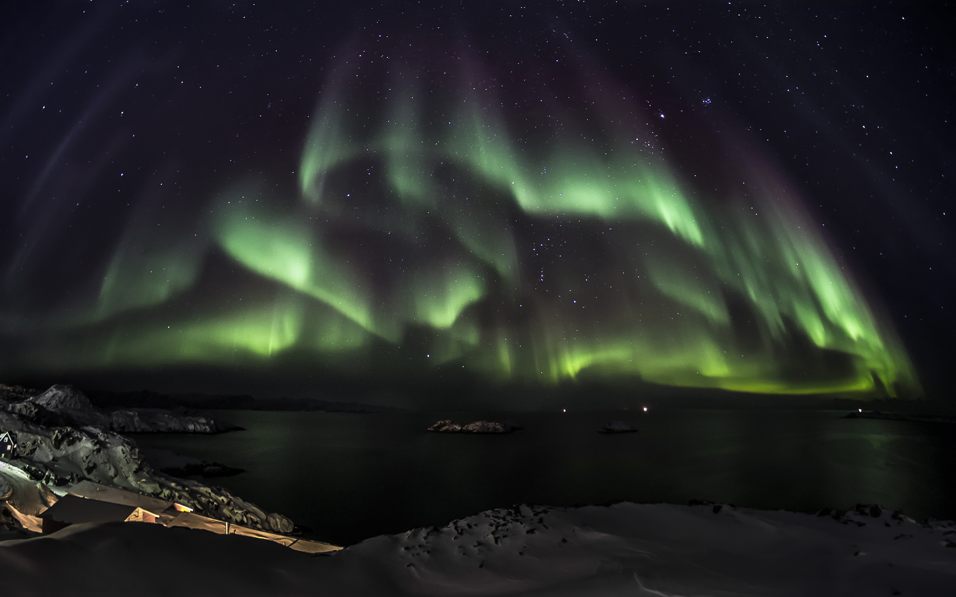 Stunning Polar Lights Wallpaper 34701 1920x1200 px