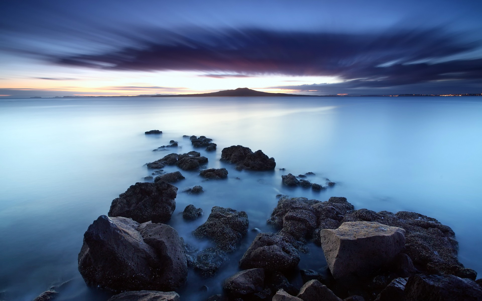 Stunning Beach Rocks Wallpaper 34587 2880x1800 px