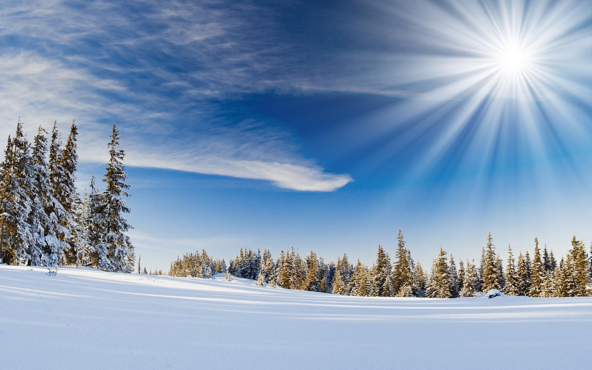 Stunning Sunbeam Wallpaper