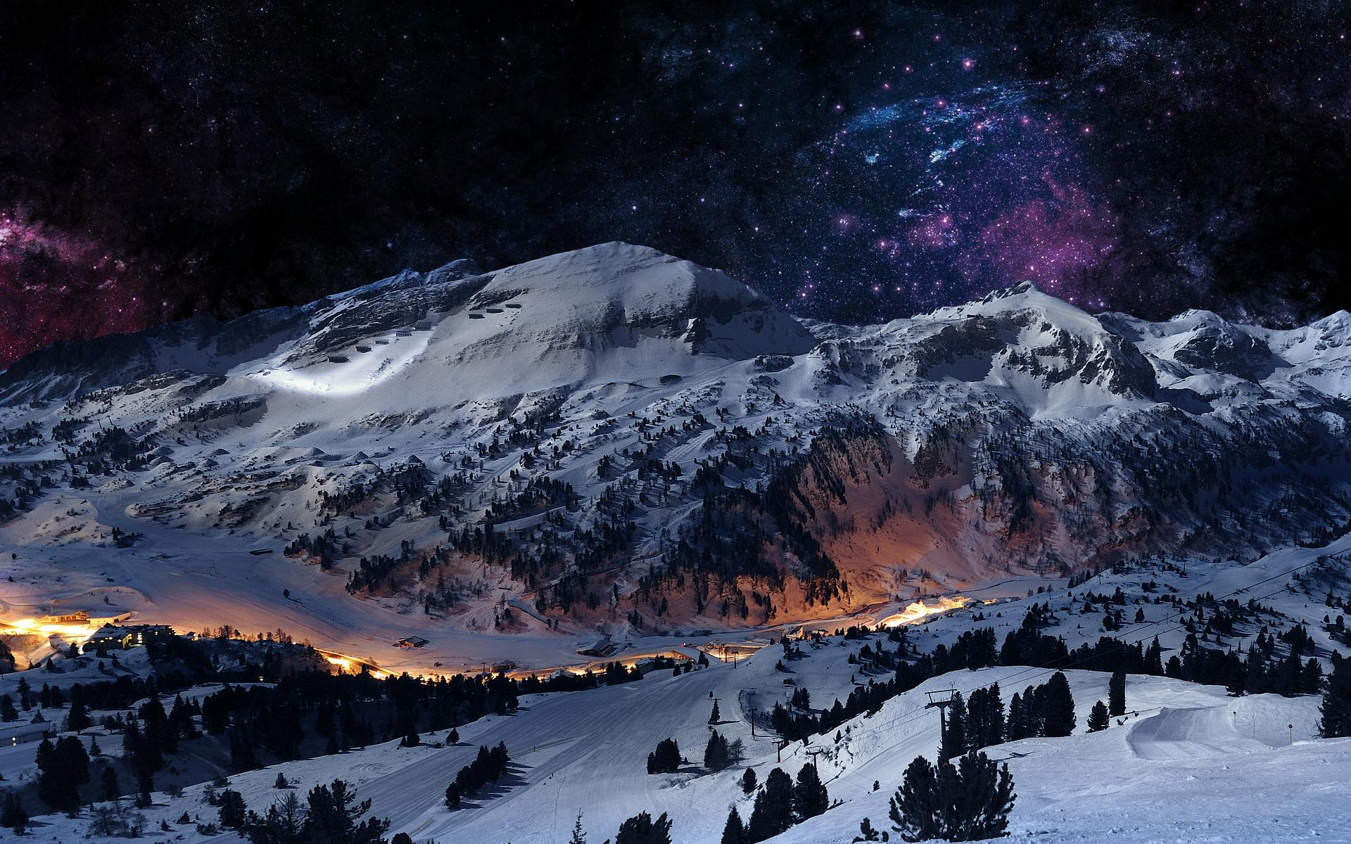 Stunning Winter Mountains