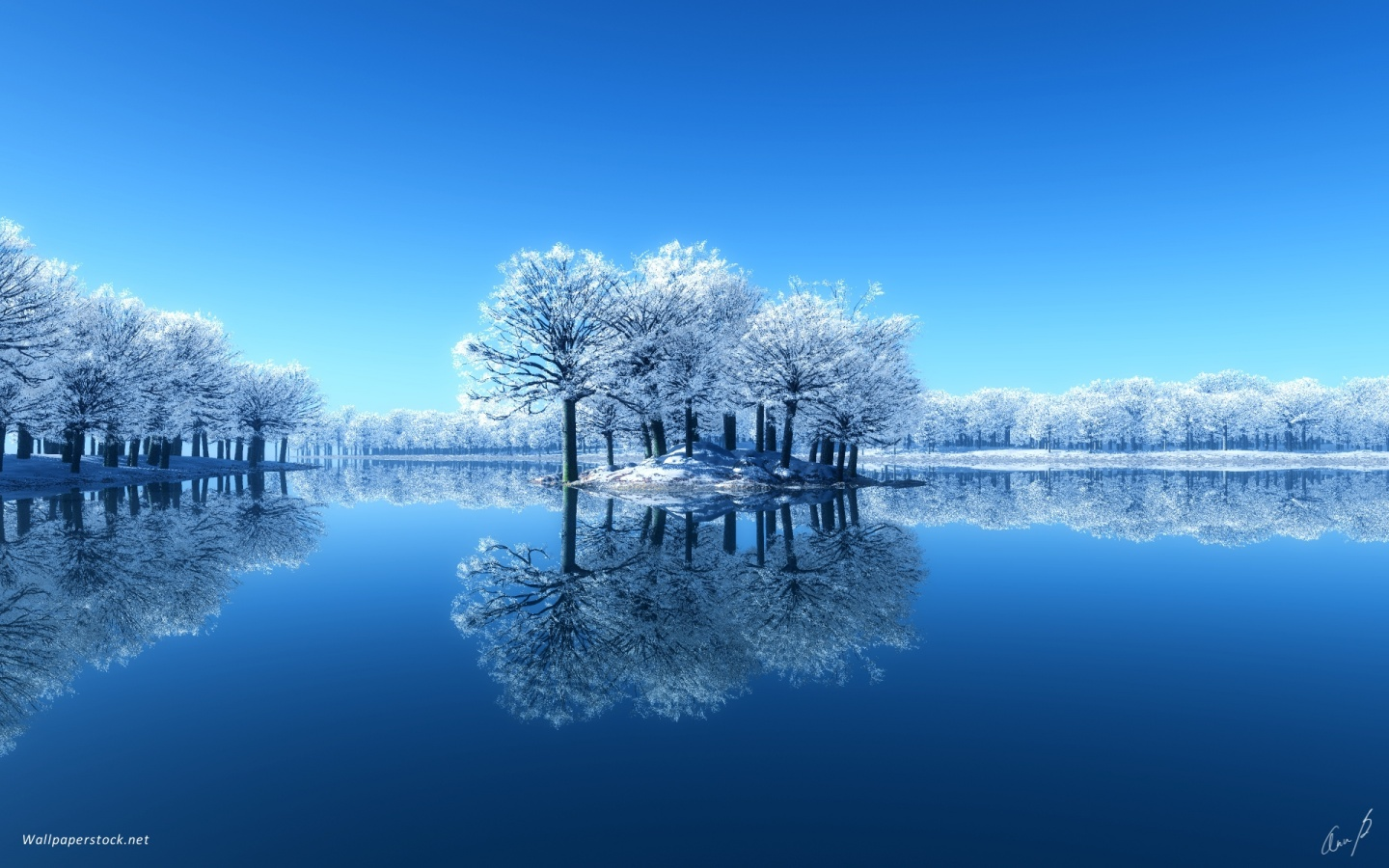 Beautiful Winter Scenery Wallpaper wallpapers