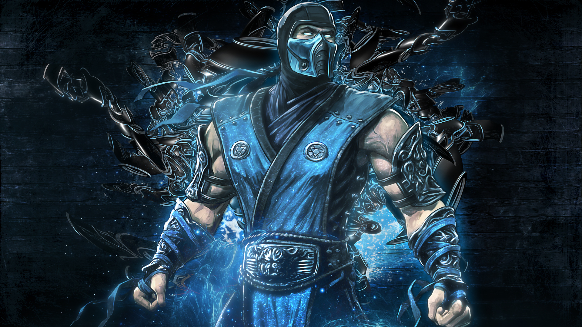 Mortal Kombat Sub Zero Ninja Games Wallpapers and photos