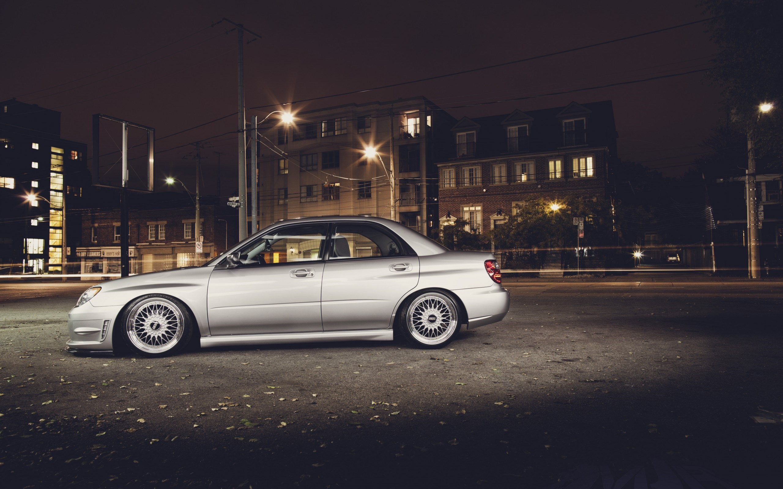 Subaru Impreza City Parking