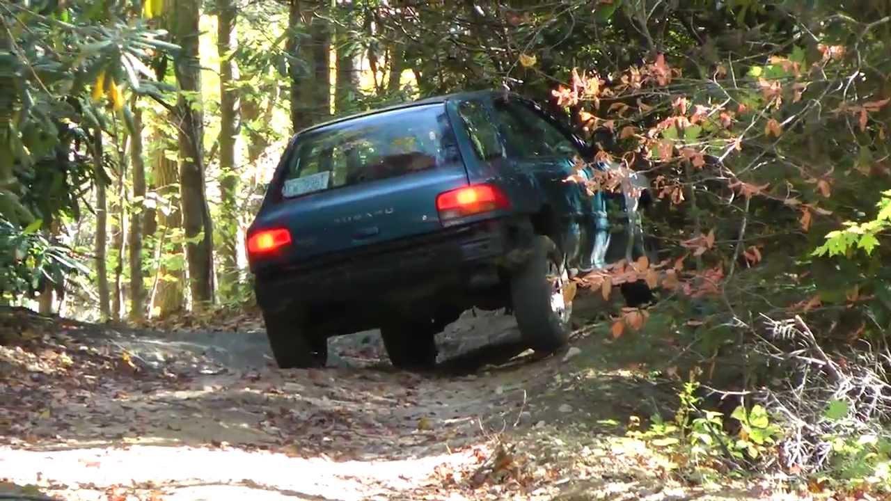 Subaru Impreza Road