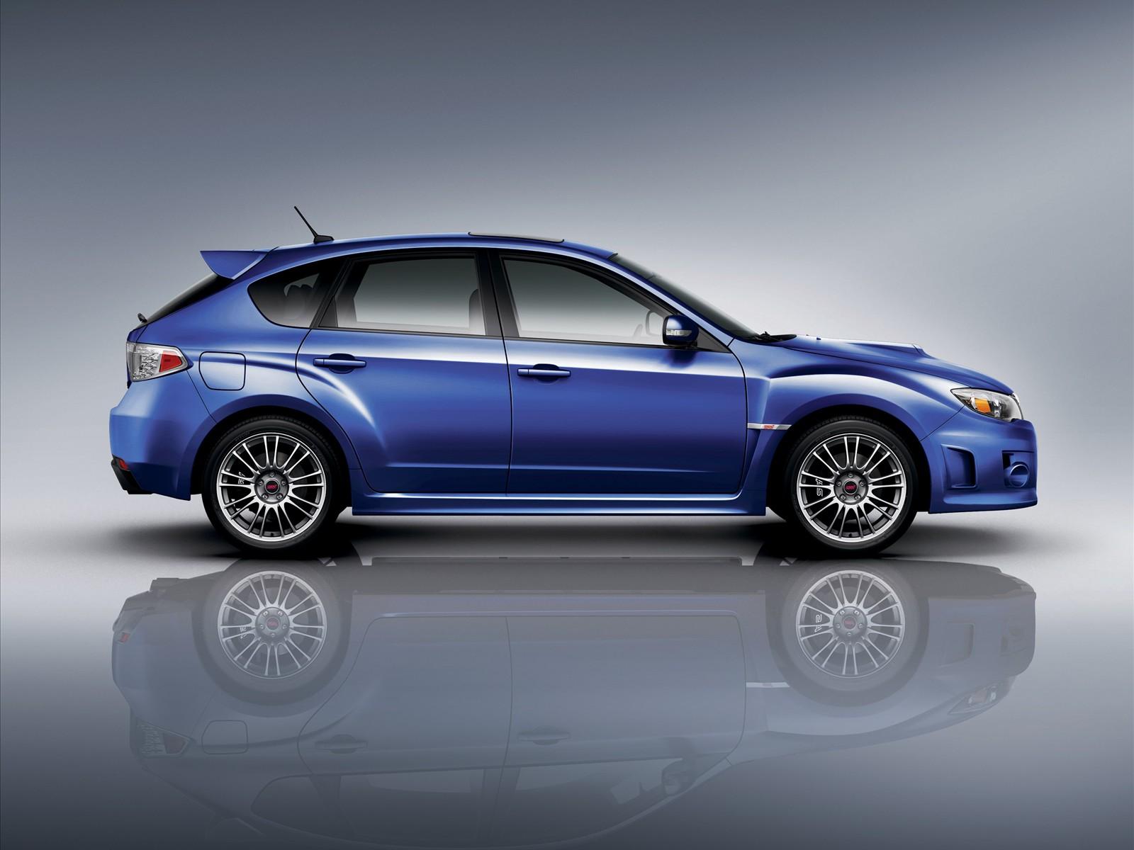 Subaru Impreza STI Car