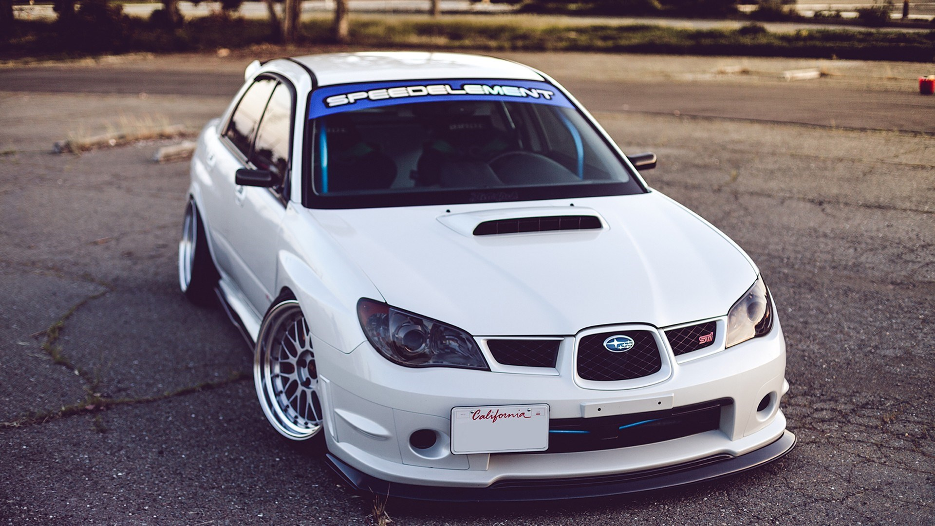 Subaru Impreza WRX STI Close-Up
