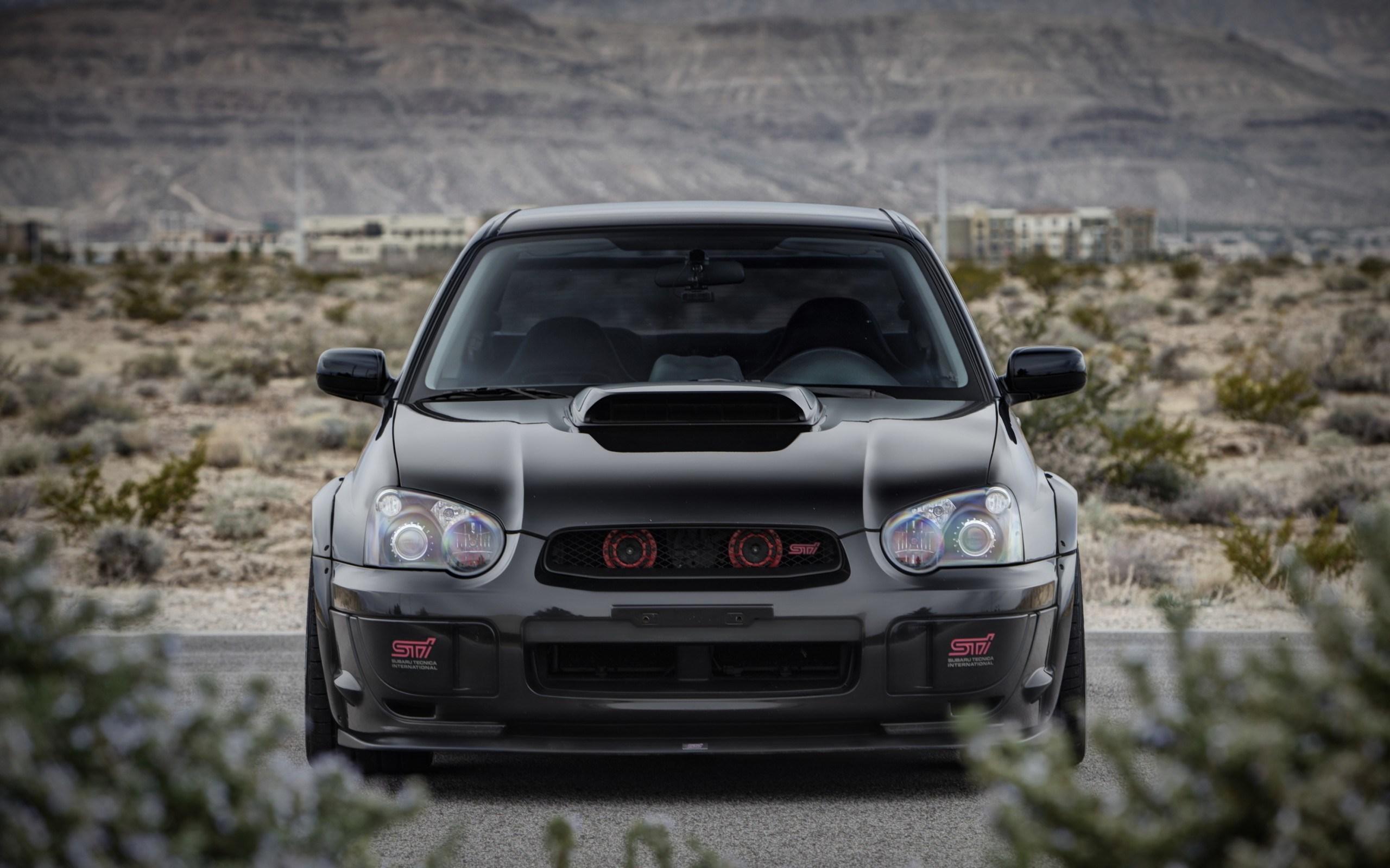 Subaru STI Tuning Car Front