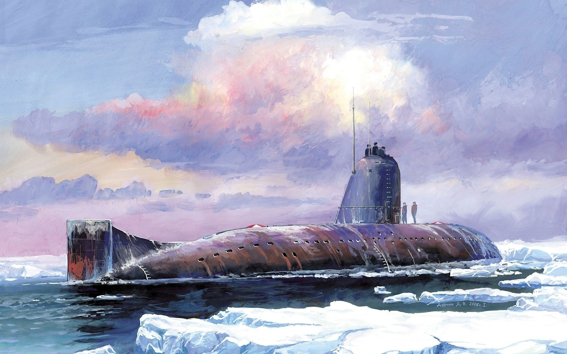 Submarine Art