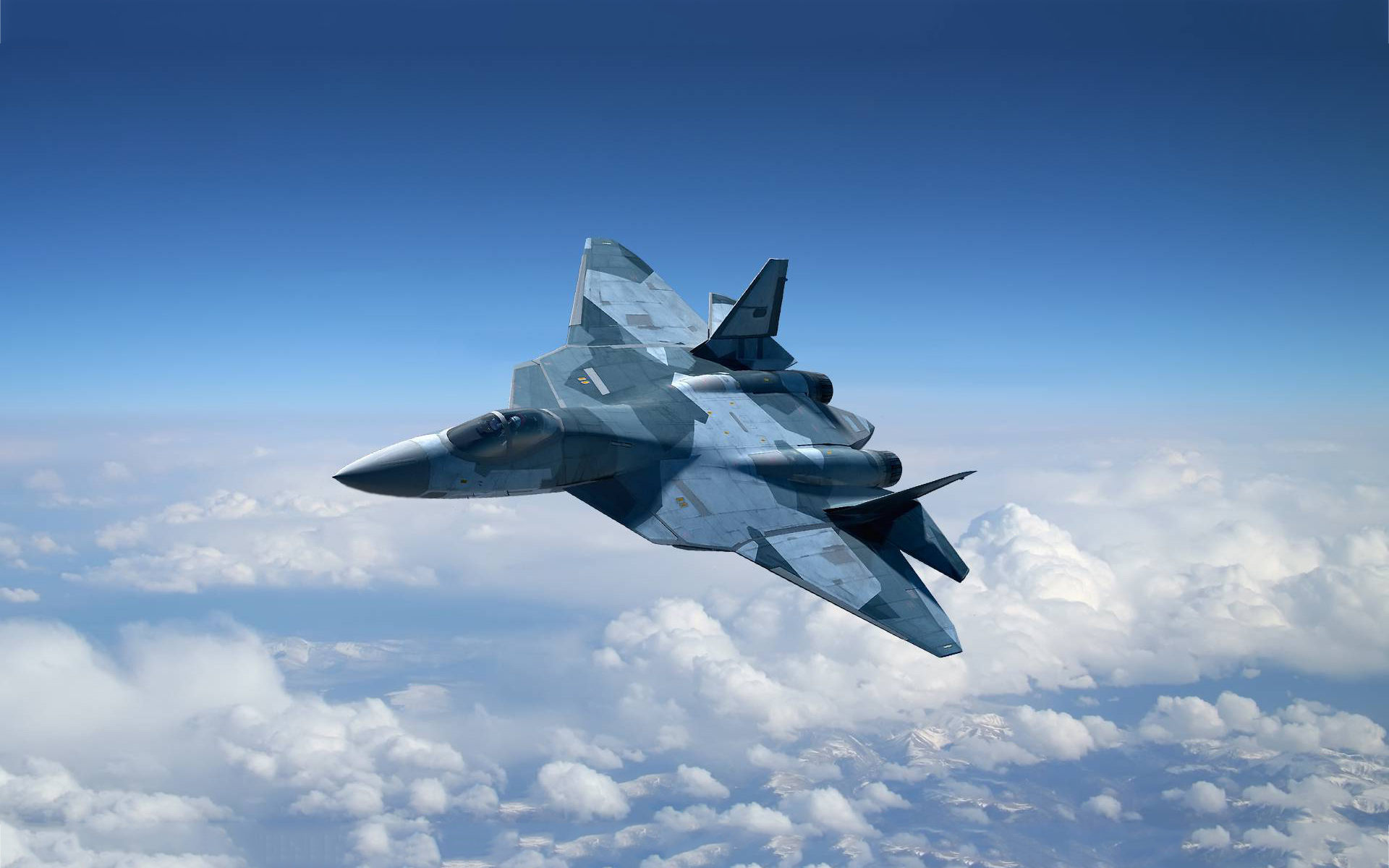 Suchoi t50 jet