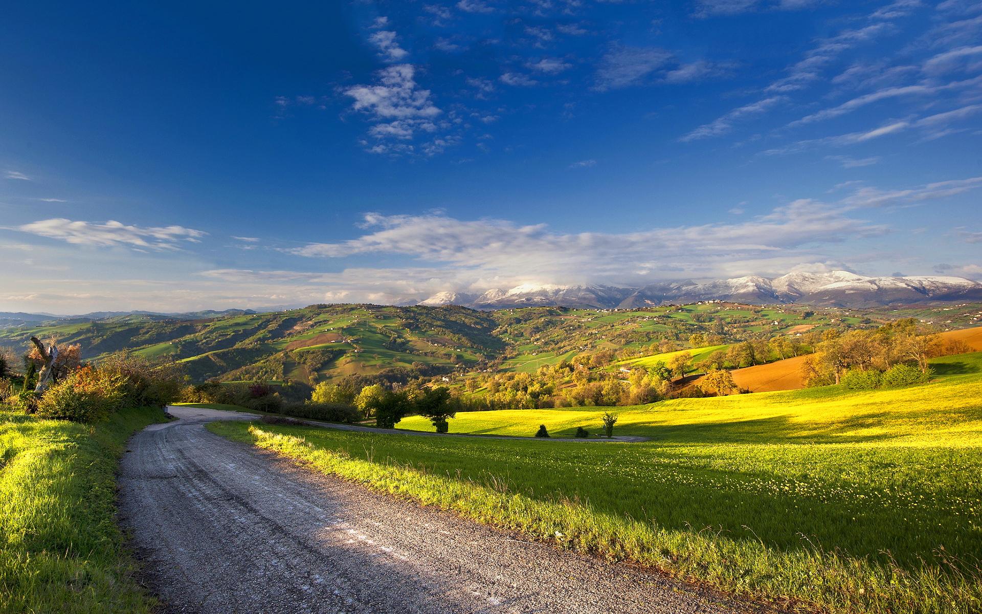 ... summer-landscape-road-hd ...