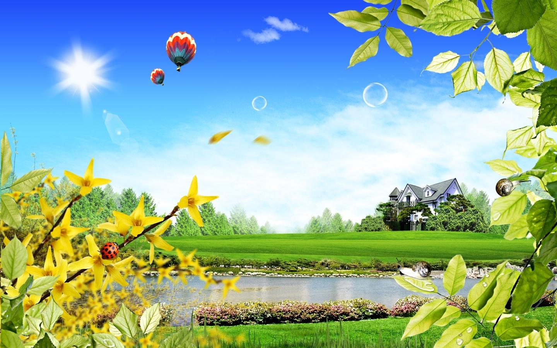 Summer Scenery Wallpaper