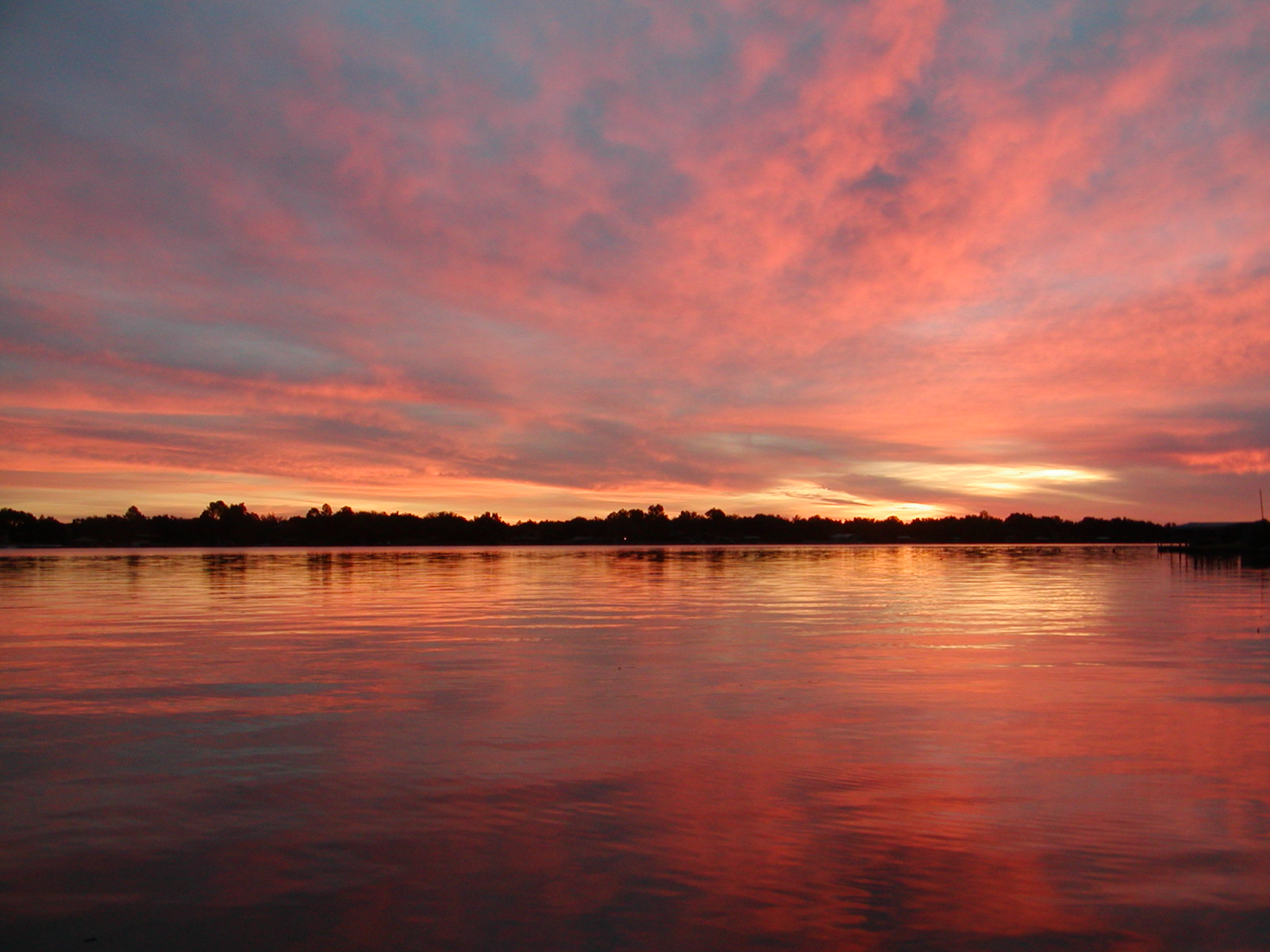 Sunrise at Sunrise Beach on Lake LBJ - Photo by Mark Jordan