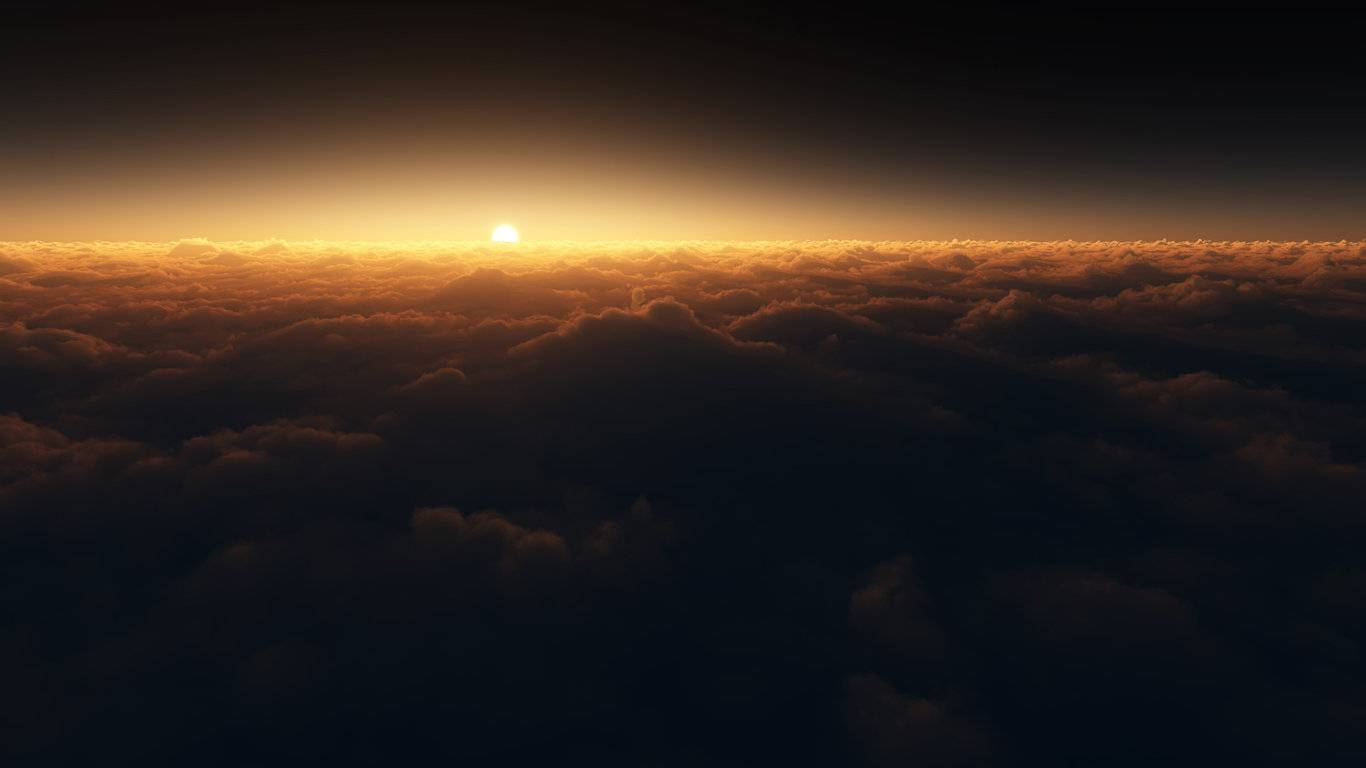 Sunrise Cloud Wallpaper