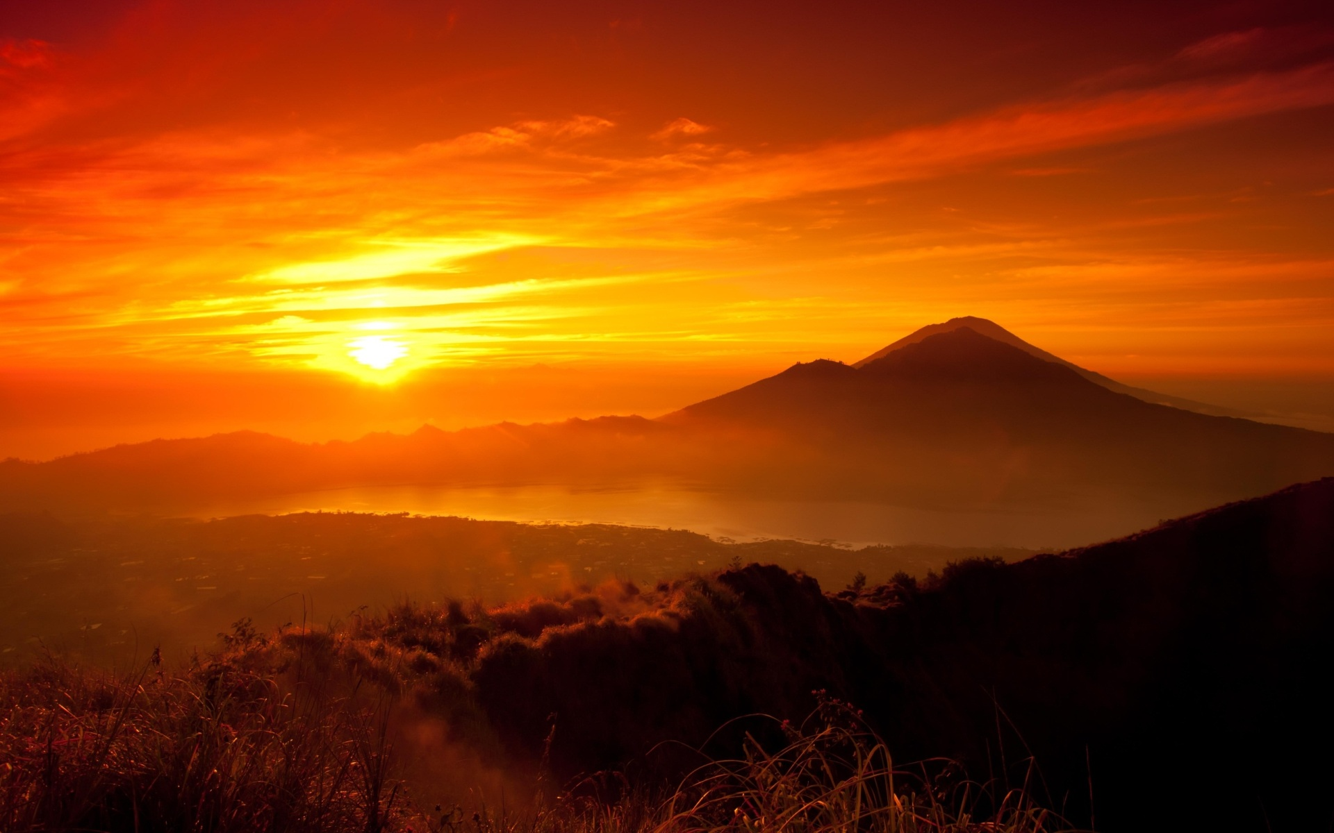 Sunrise Mountain 22 HD Wallpaper