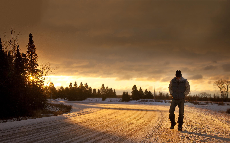 Sunrise walk