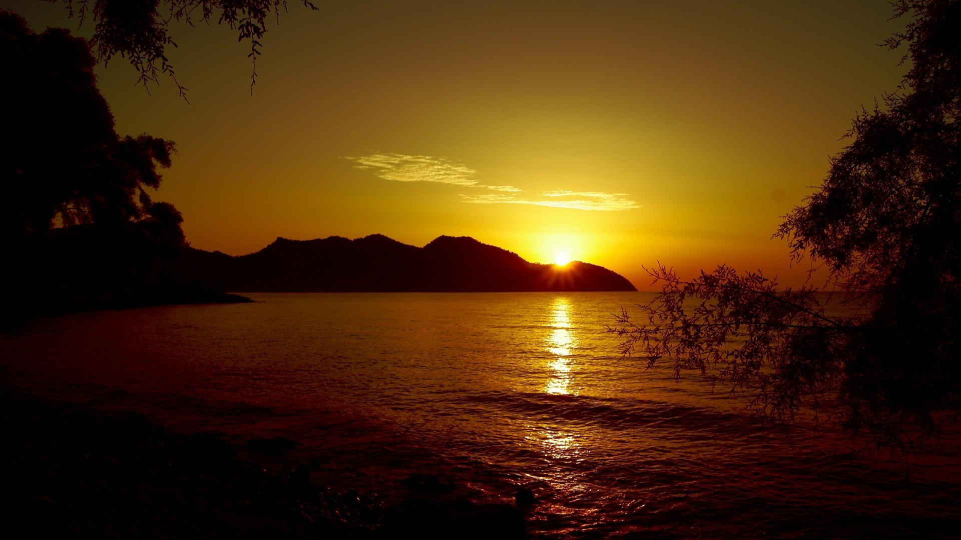 Sunset cala bona