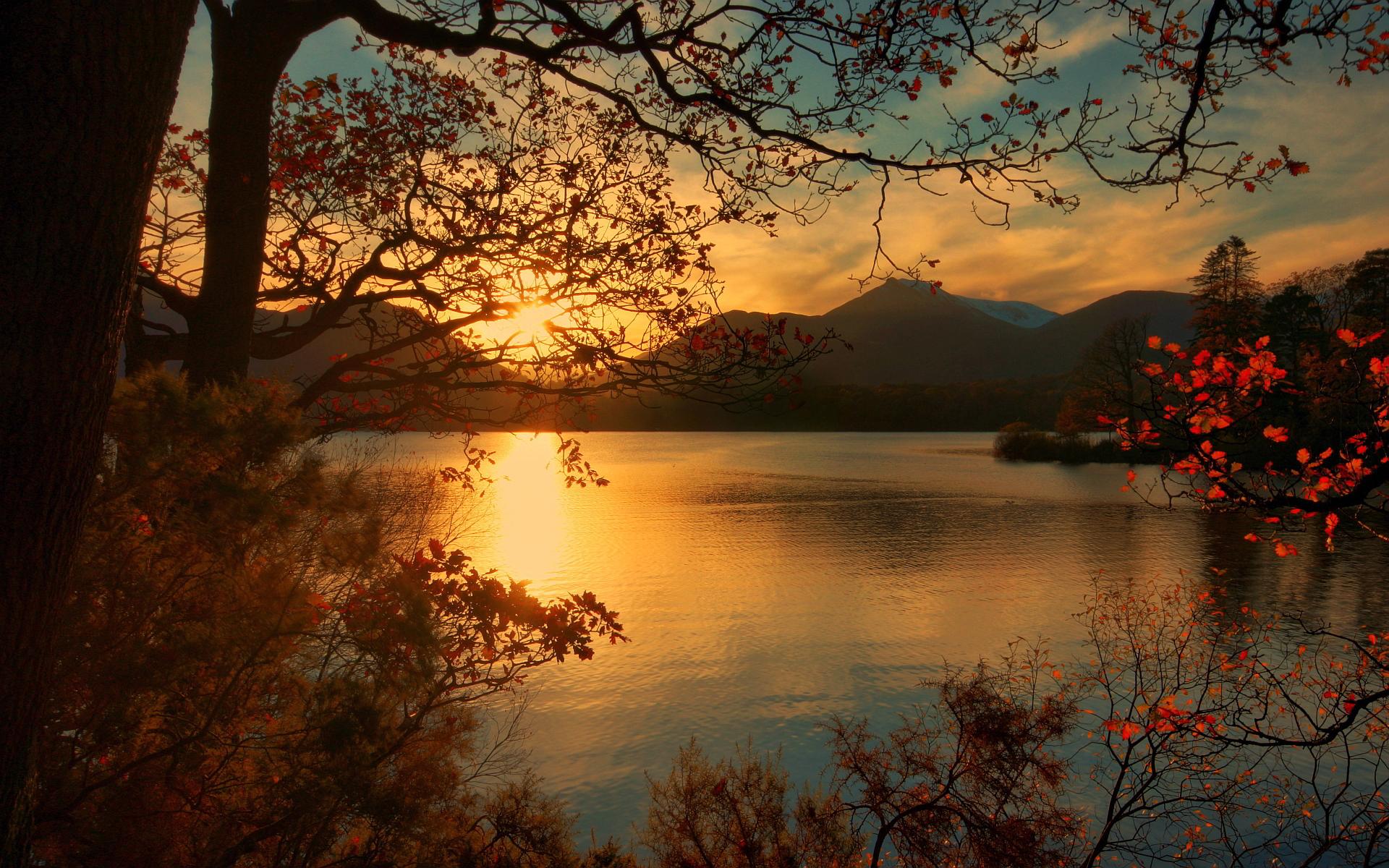 Sunset lake national park
