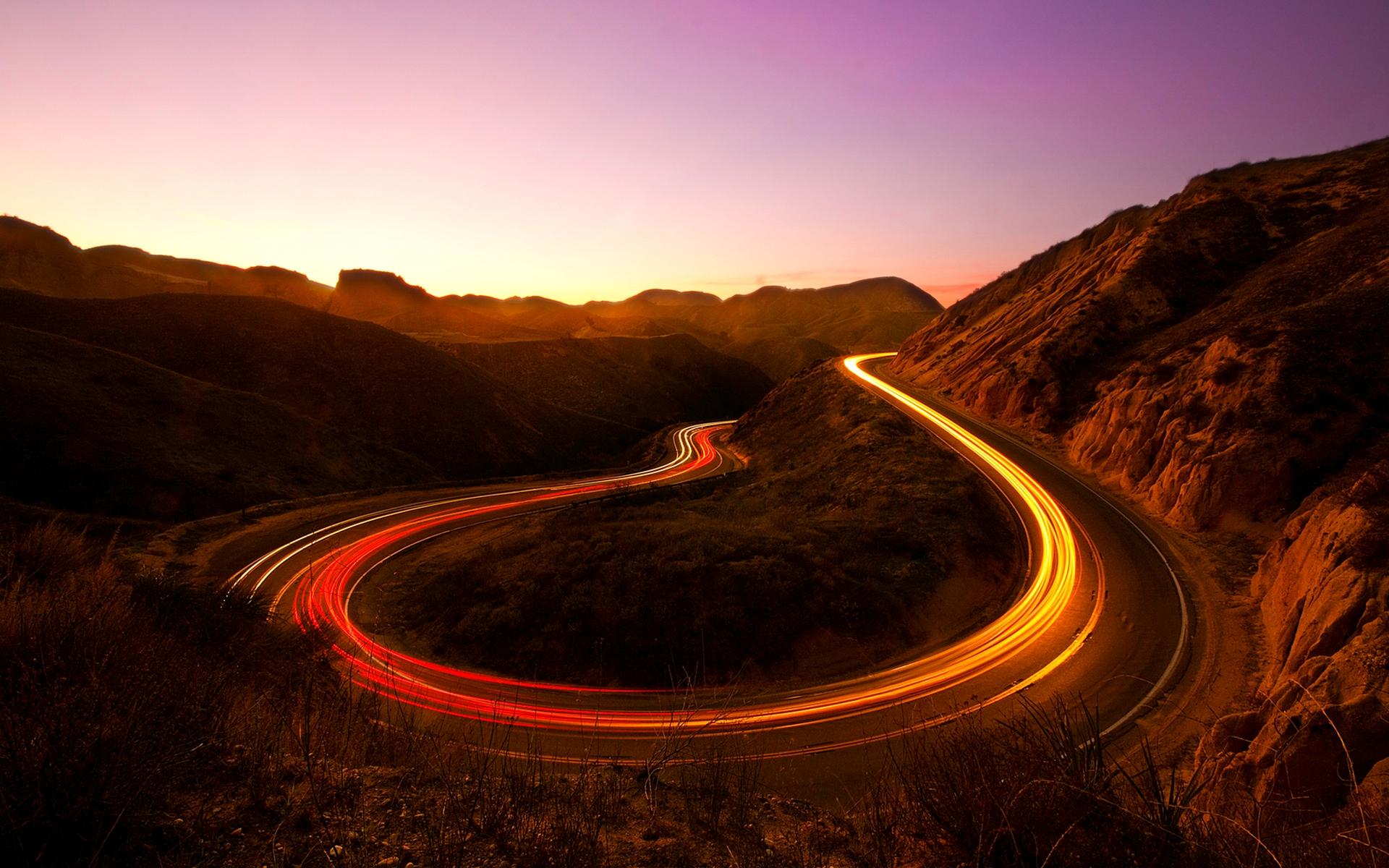 Sunset Lights Canyon