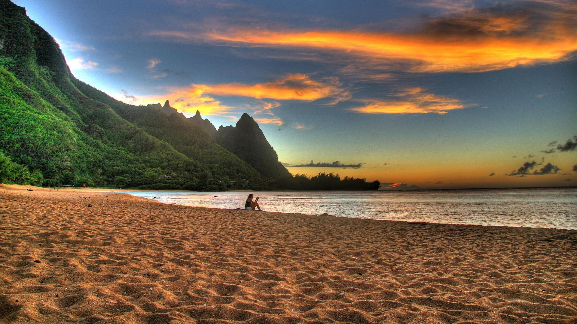 Sunset Sand Beach