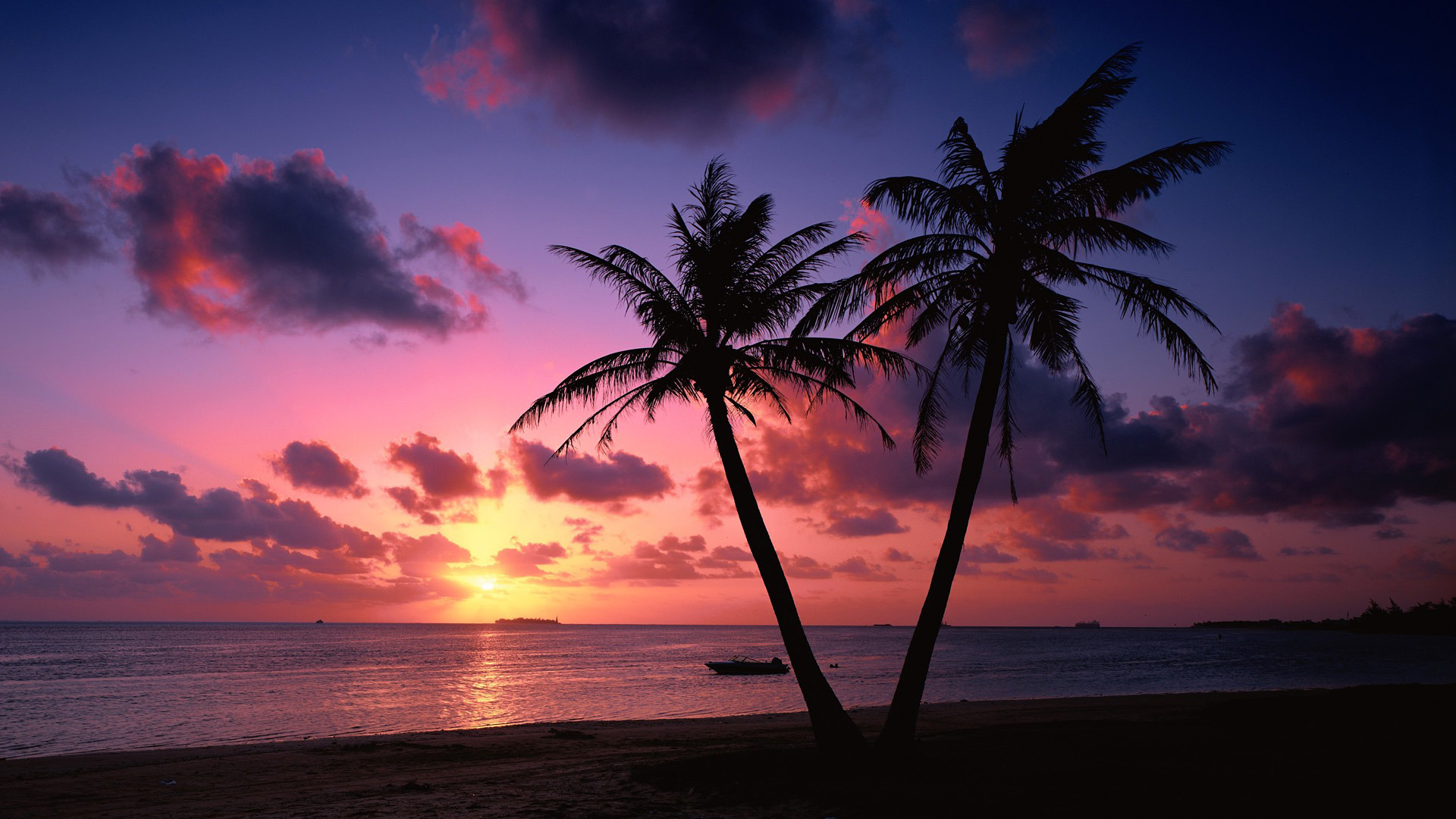 Tropical Beach Sunset Wallpaper Pictures 5 HD Wallpapers