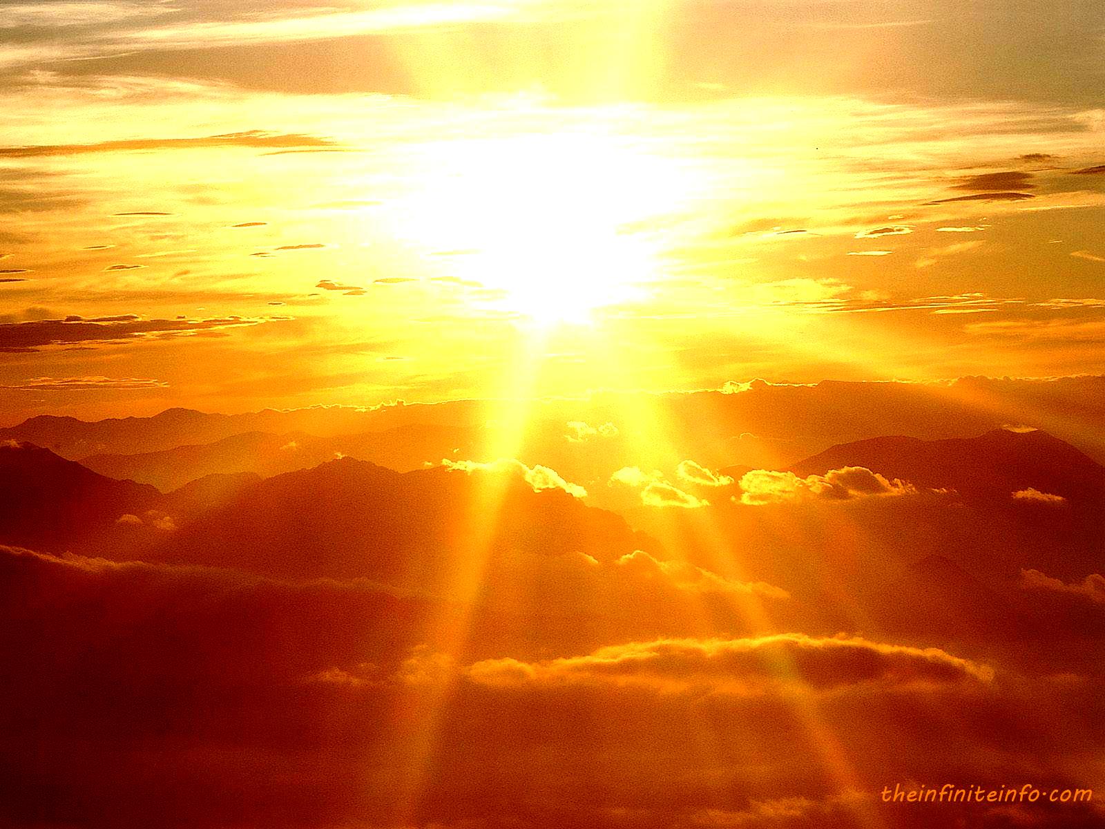Beautiful Sunshine Wallpaper
