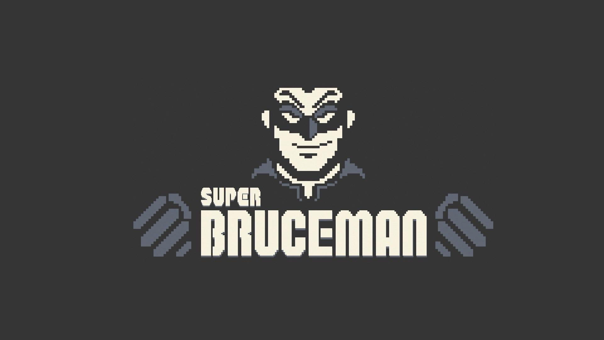 Super Bruceman Art HD Wallpaper