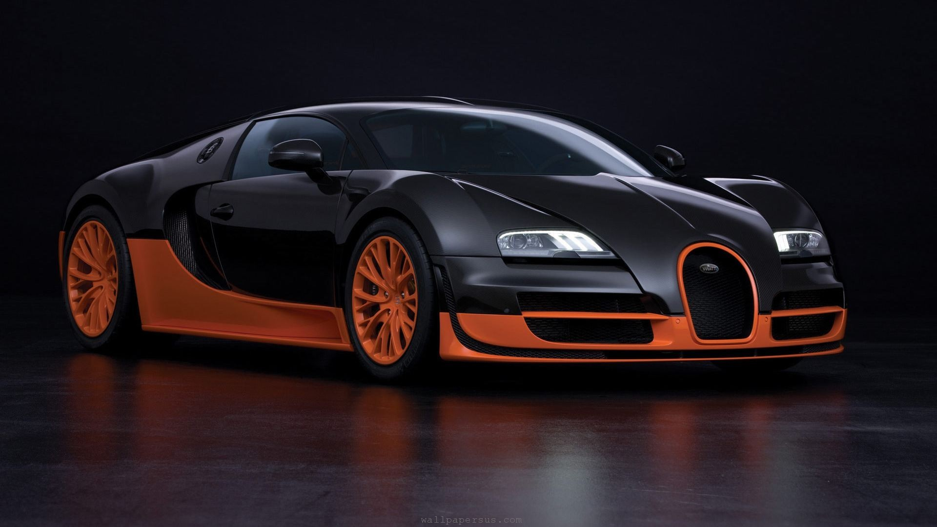 Wallpaper Bugatti Cars Veyron Supercars Wallpaper