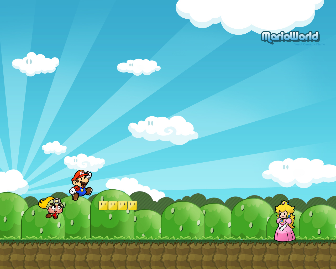 Super Mario Bros- Wallpaper HD HD