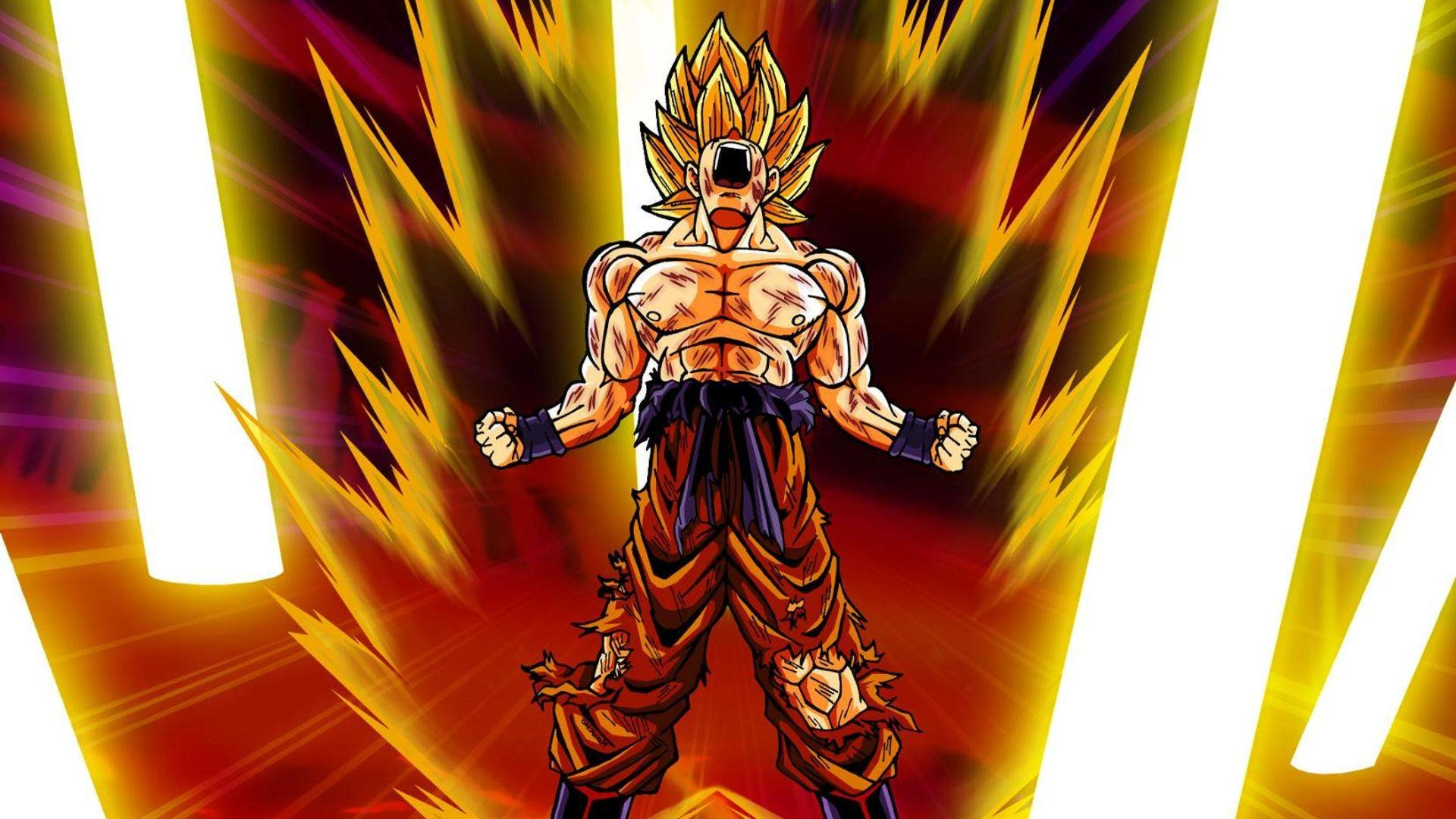 Super Saiyan Background Cool Wallpapers