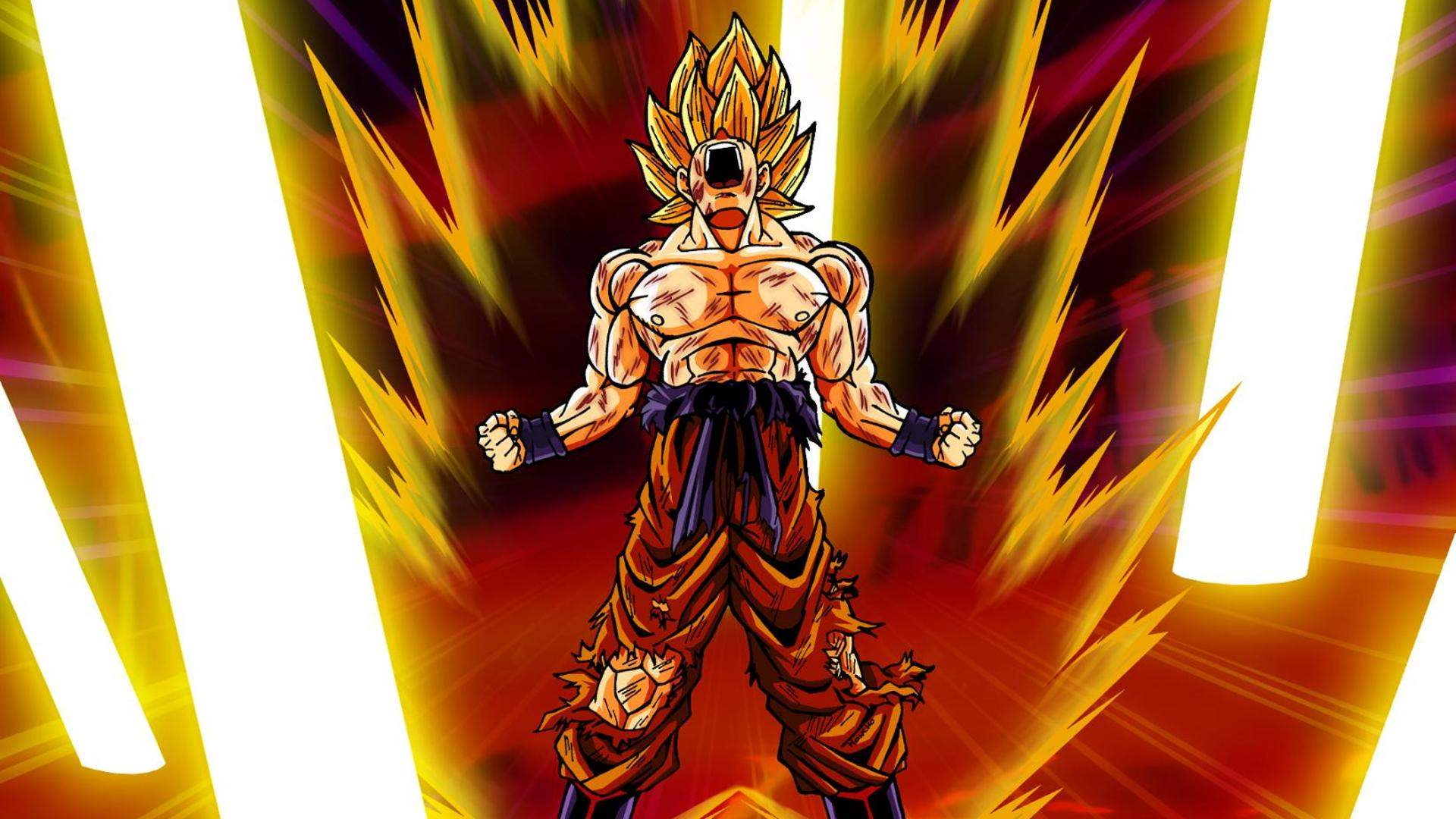 Have Selected Match Dragonball Super Saiyan Desktop Wallpaper