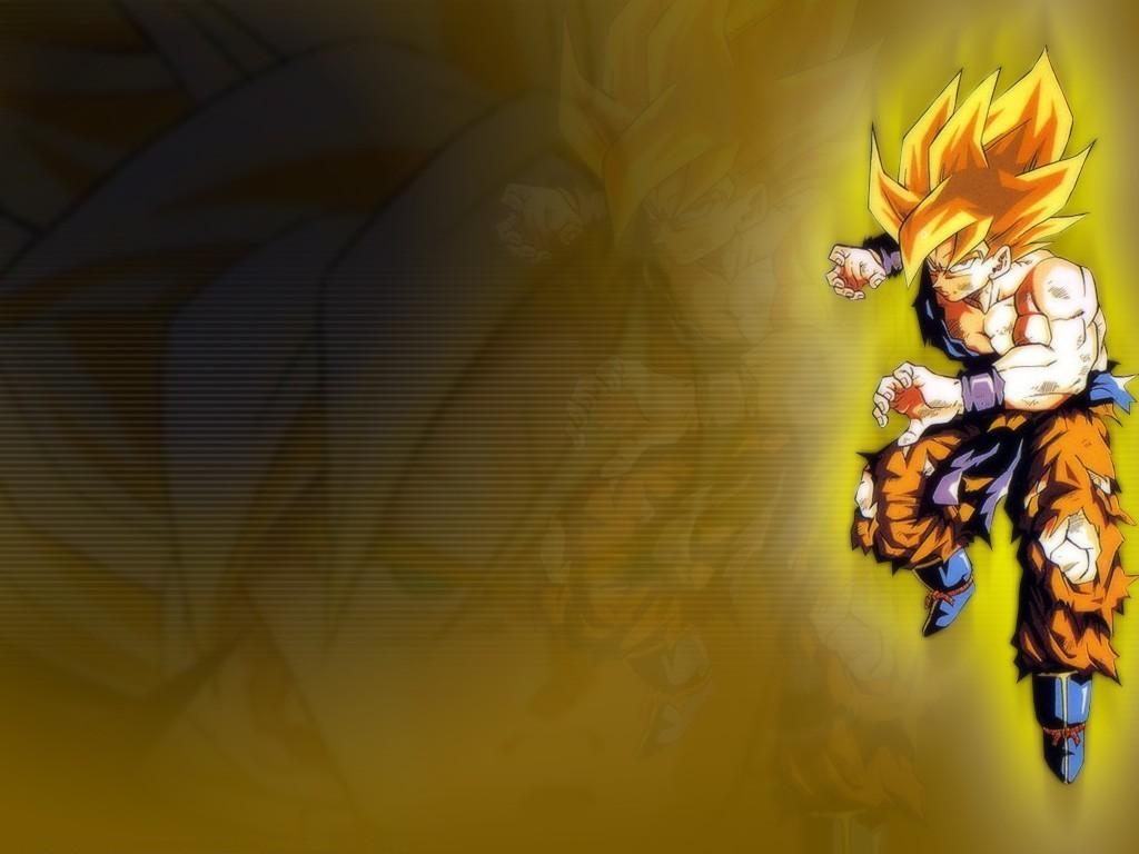 Dragon Ball Goku Super Saiyan Desktop Wallpaper