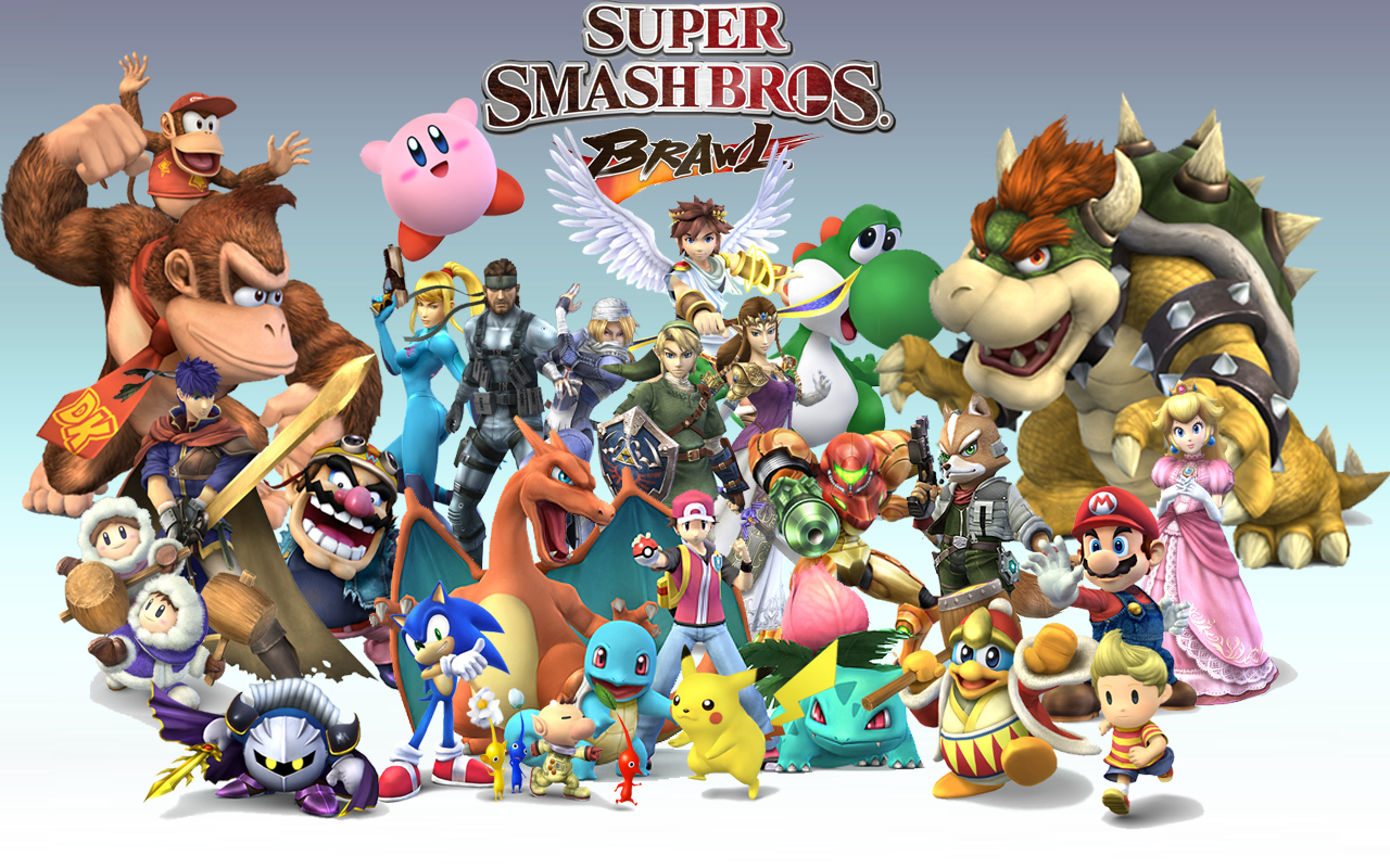 [​IMG] ​. Super Smash Bros.